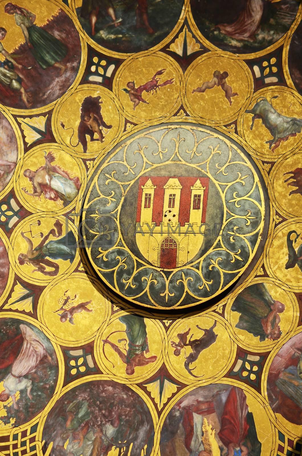 Astronomical clock, Prague by sarkao