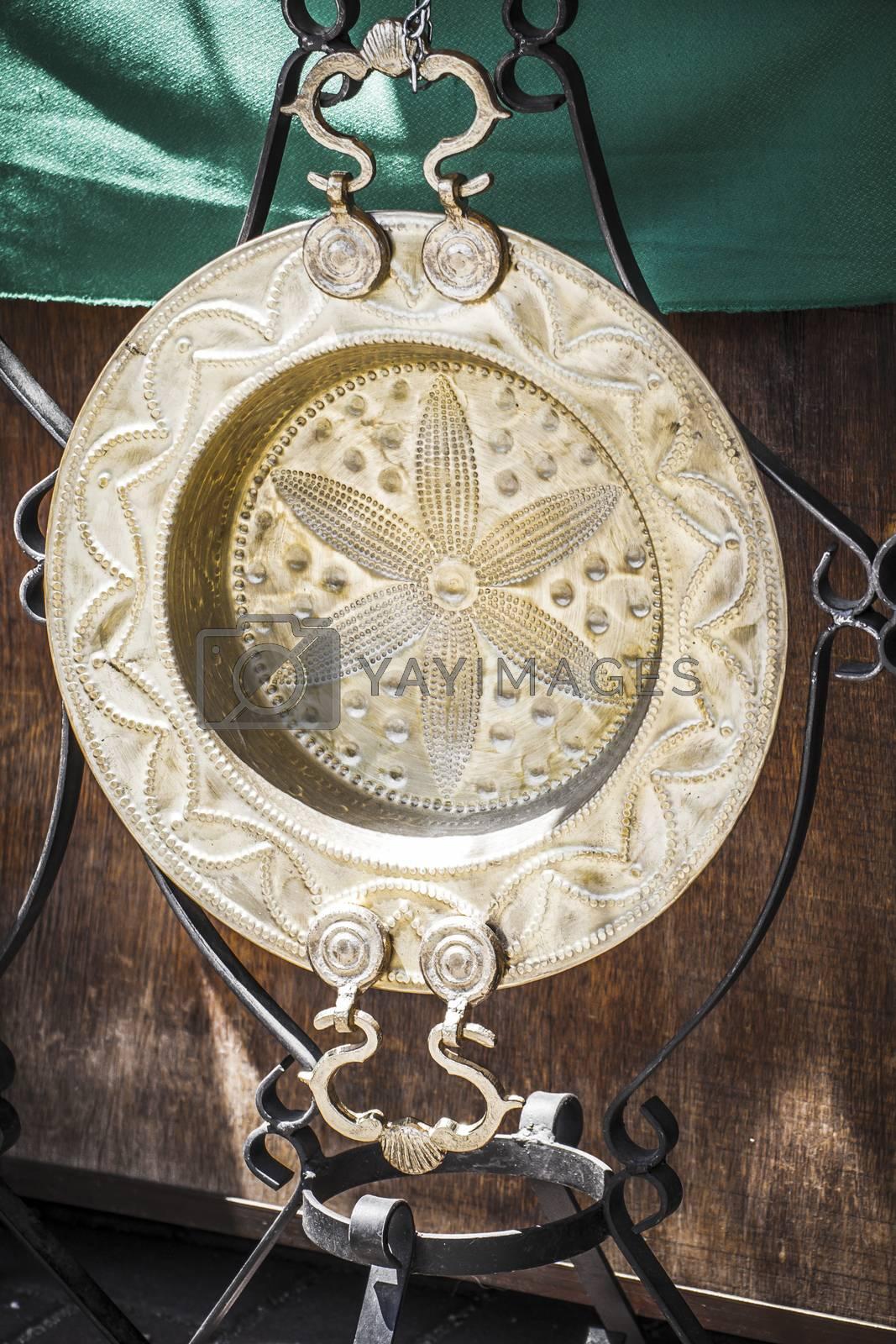 braziers, utensils warm in winter, medieval fair
