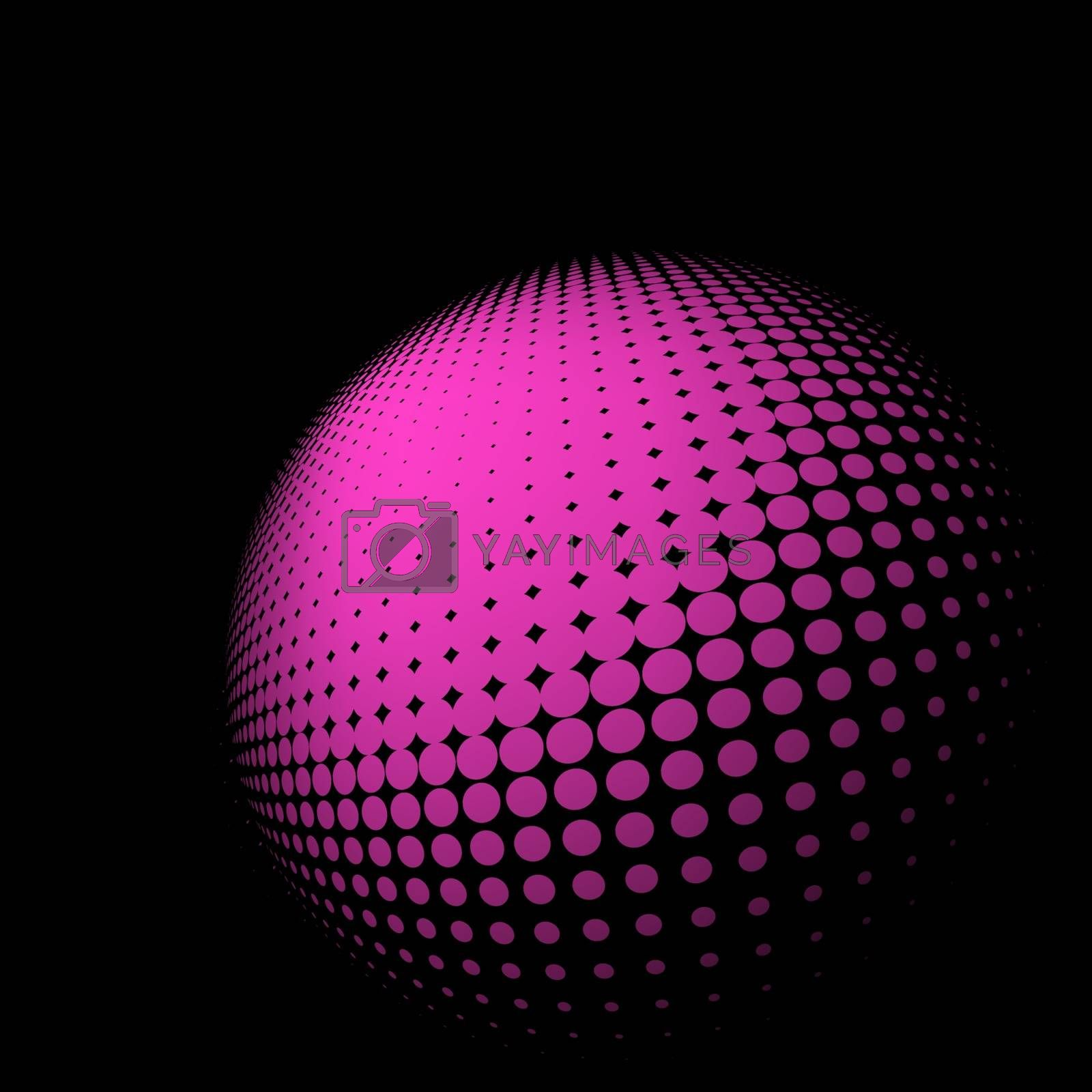 Abstract halftone abstract background. EPS 8 vector file included