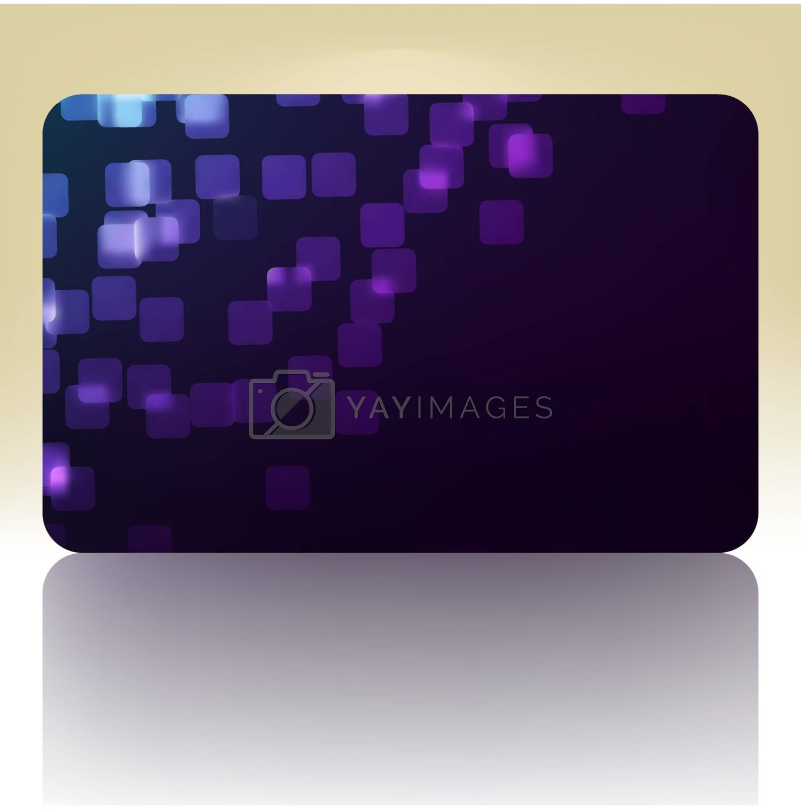Beautiful gift card. EPS 8 vector file included