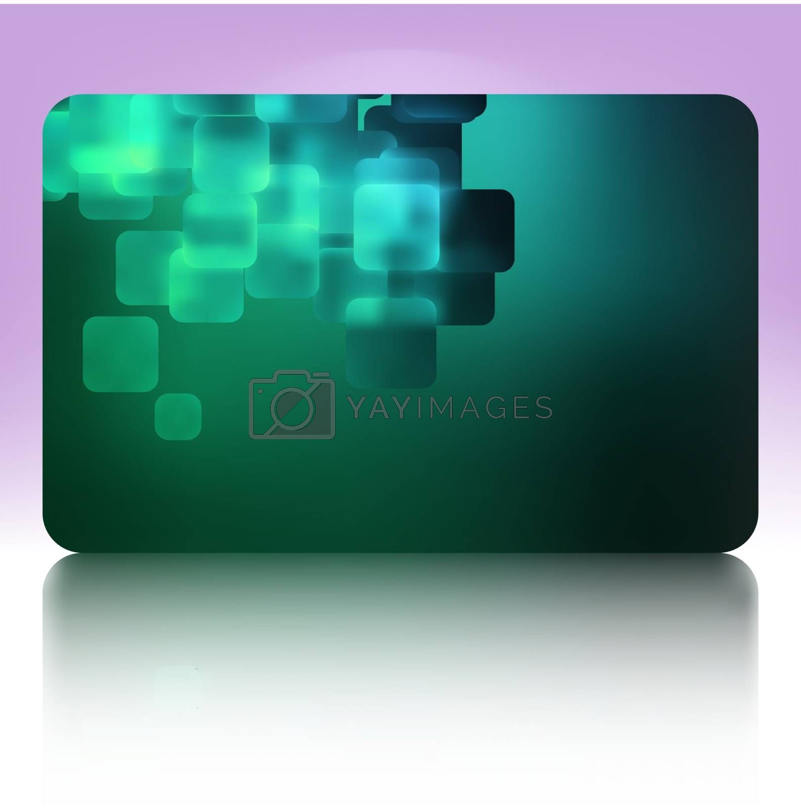 Royalty free image of Beautiful gift card. EPS 8 by Petrov_Vladimir