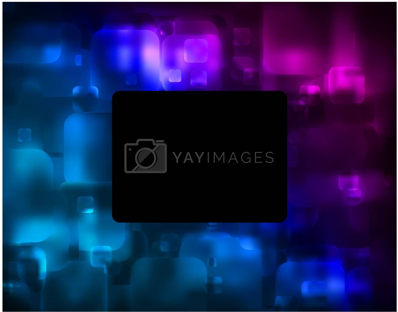 Abstract glowing background. EPS 8 vector file included