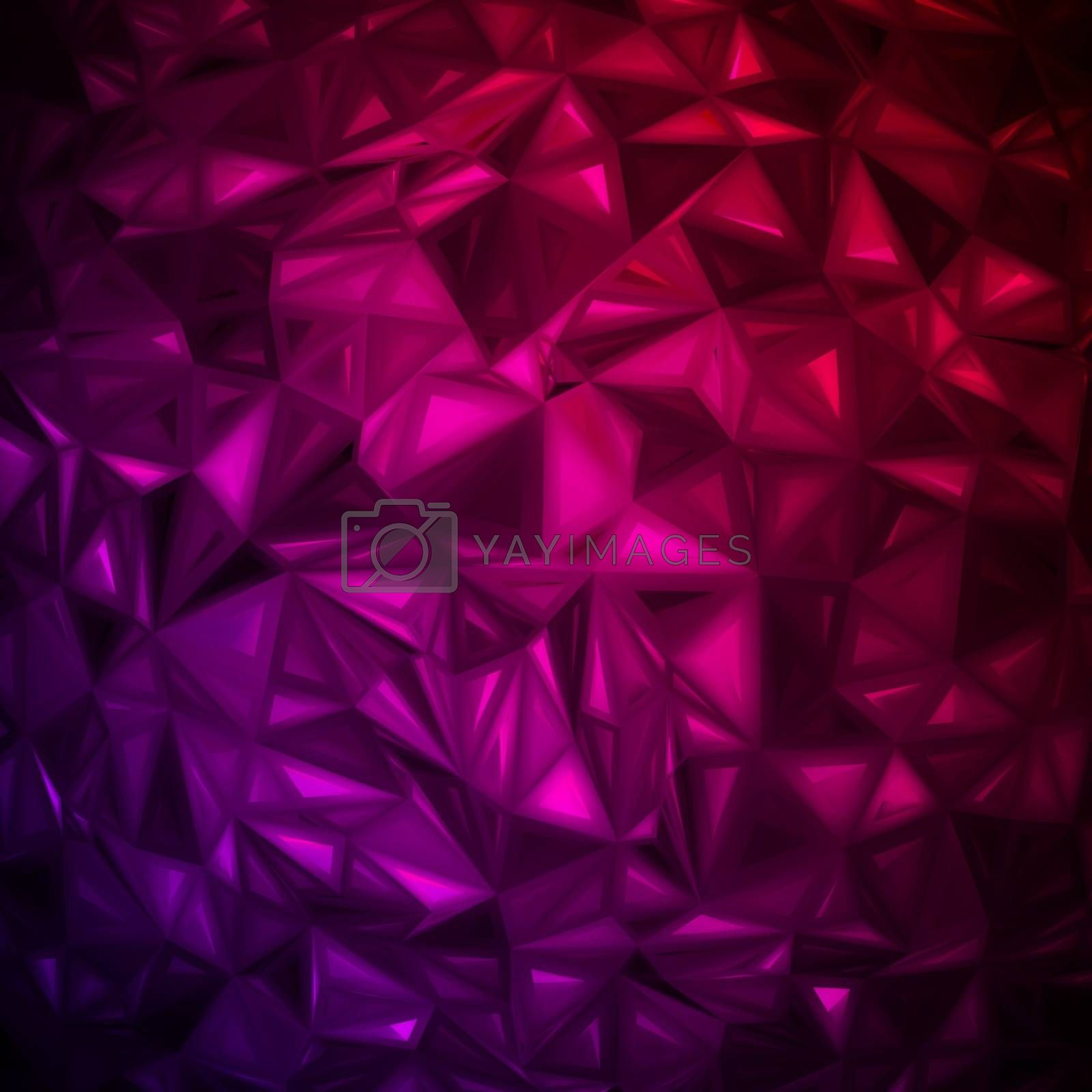 Royalty free image of Rumpled abstract background. EPS 8 by Petrov_Vladimir