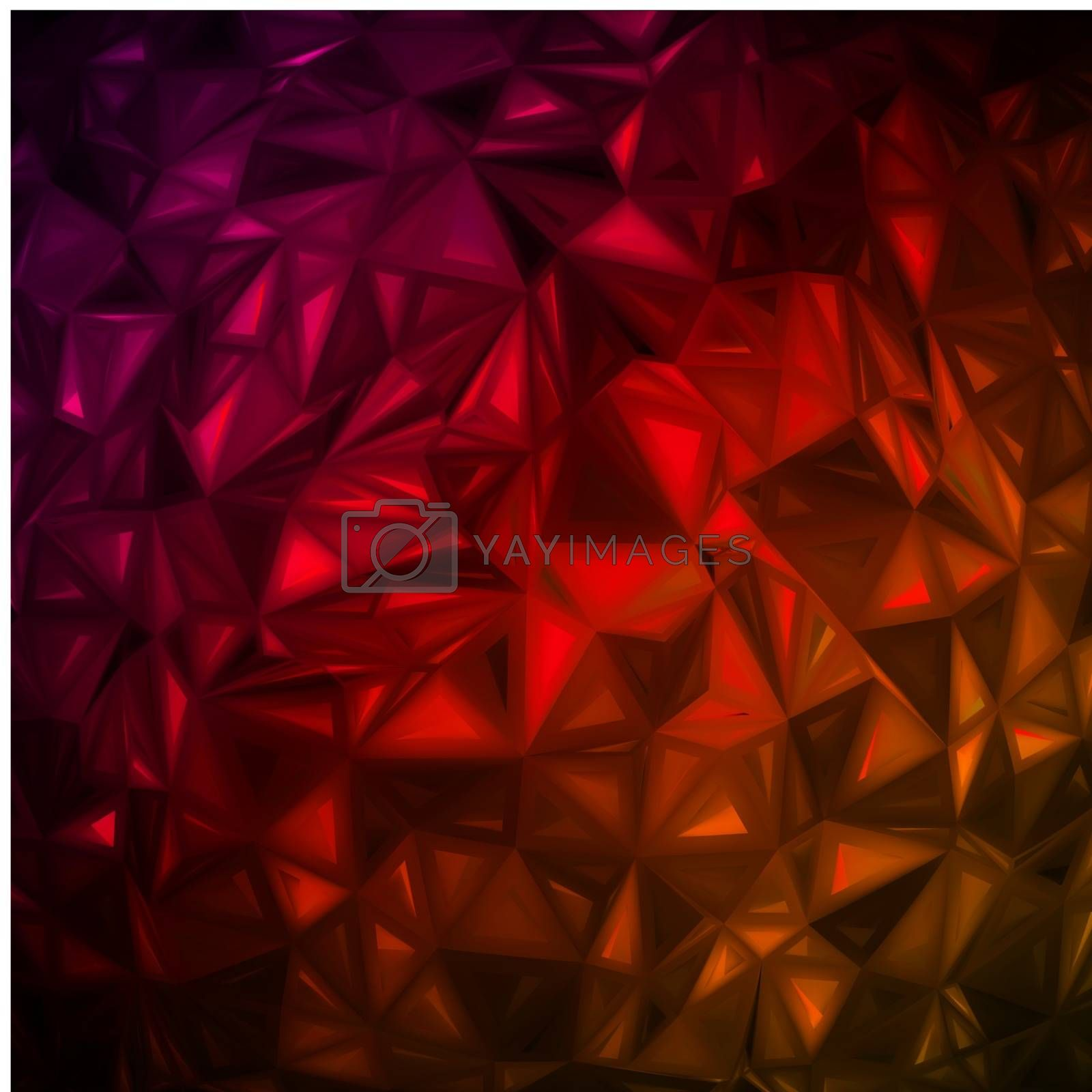 Rumpled abstract background. EPS 8 by Petrov_Vladimir