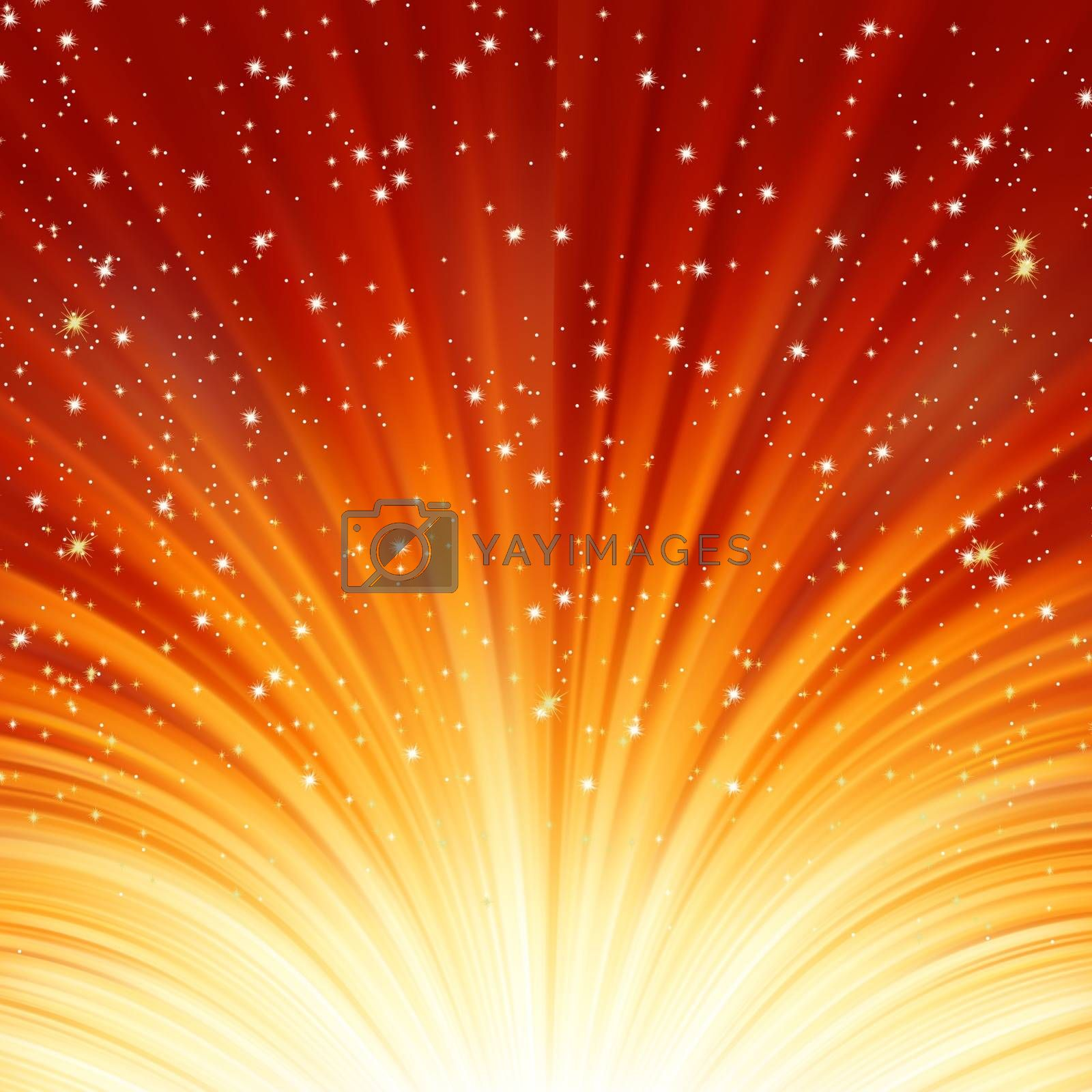 Abstract fire glow background. EPS 8 vector file included