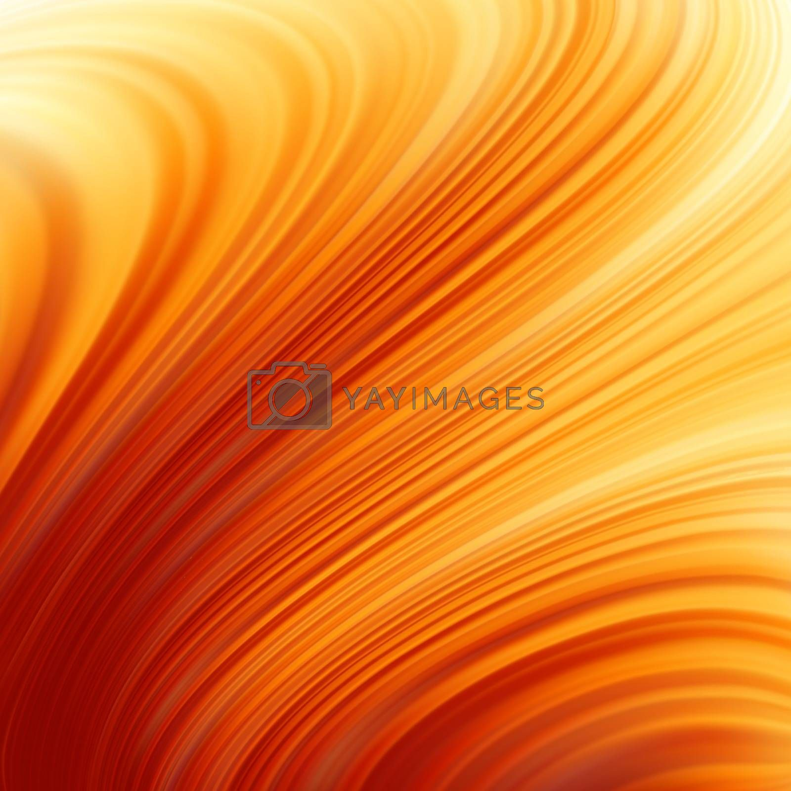 Royalty free image of Glow Twist with fire flow. EPS 8 by Petrov_Vladimir