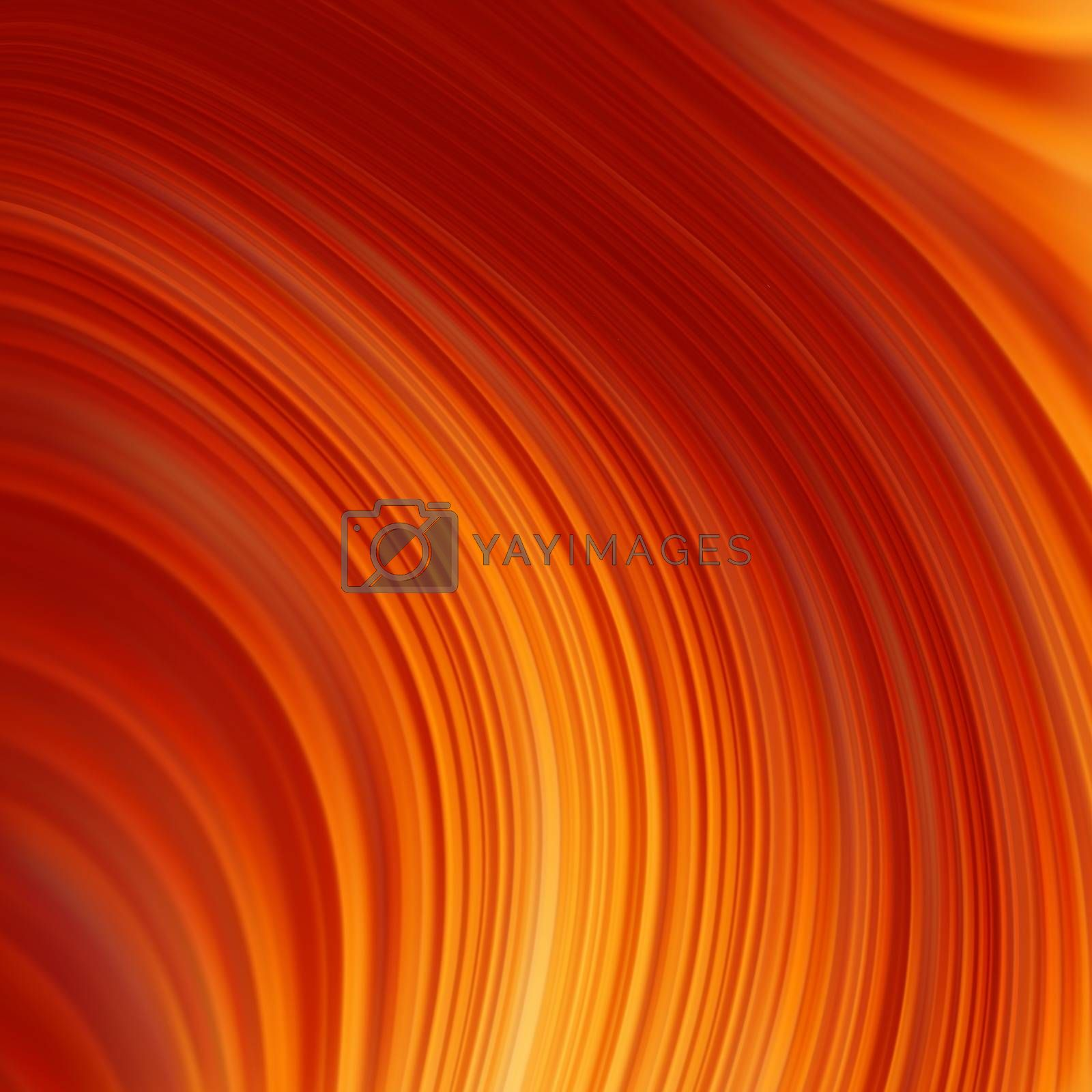 Abstract glow Twist background with golden flow. EPS 8 by Petrov_Vladimir