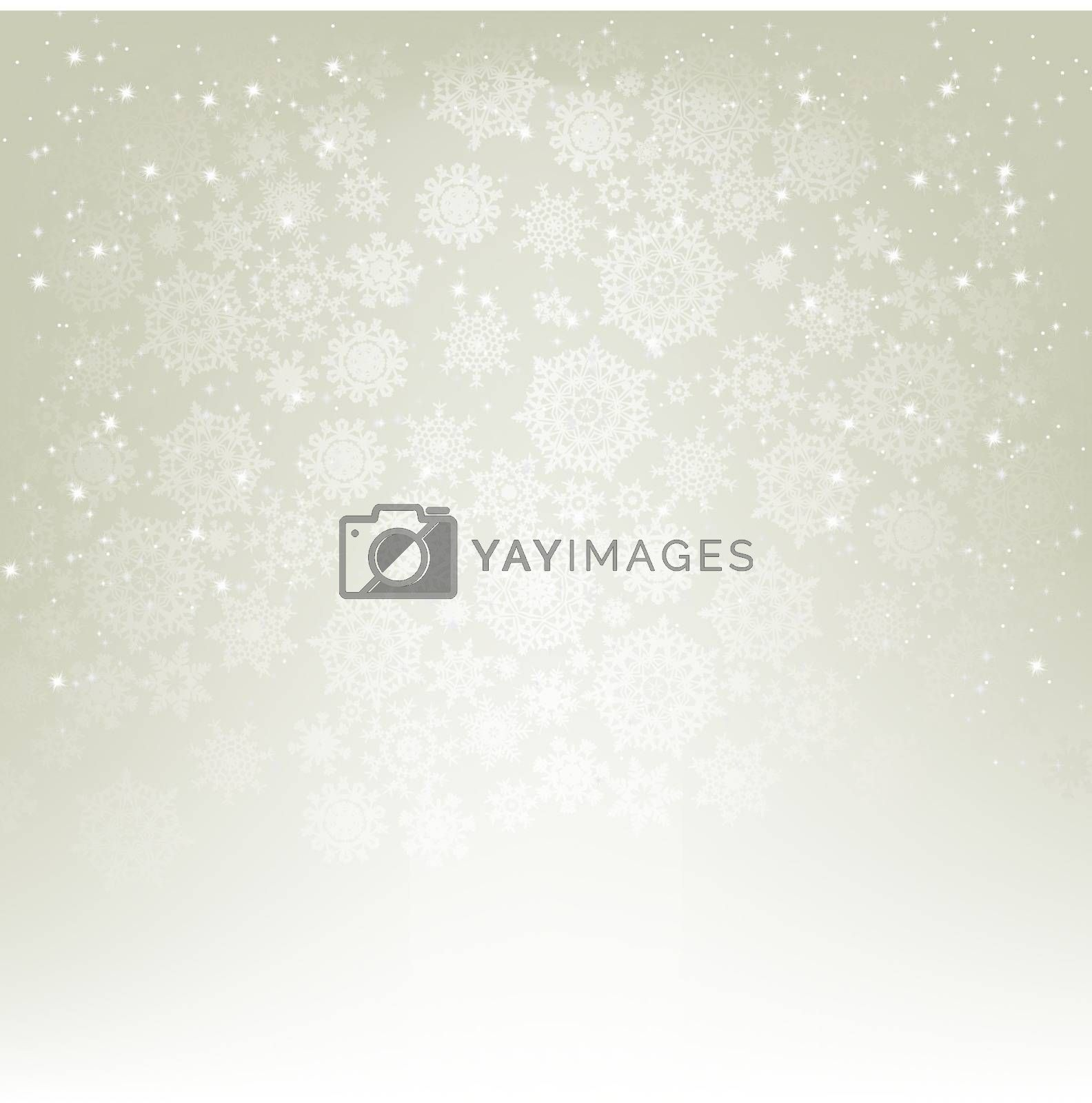 Elegant christmas with copy space. EPS 8 by Petrov_Vladimir