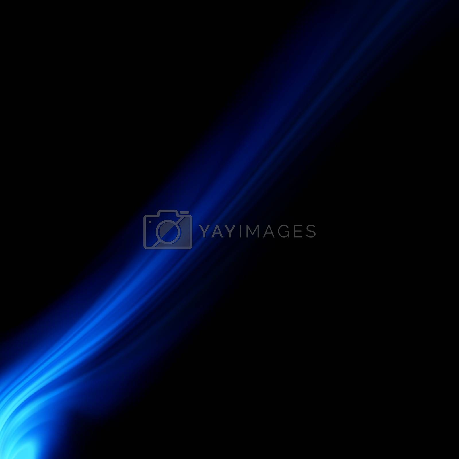 Blue smooth twist light lines background. EPS 8 vector file included