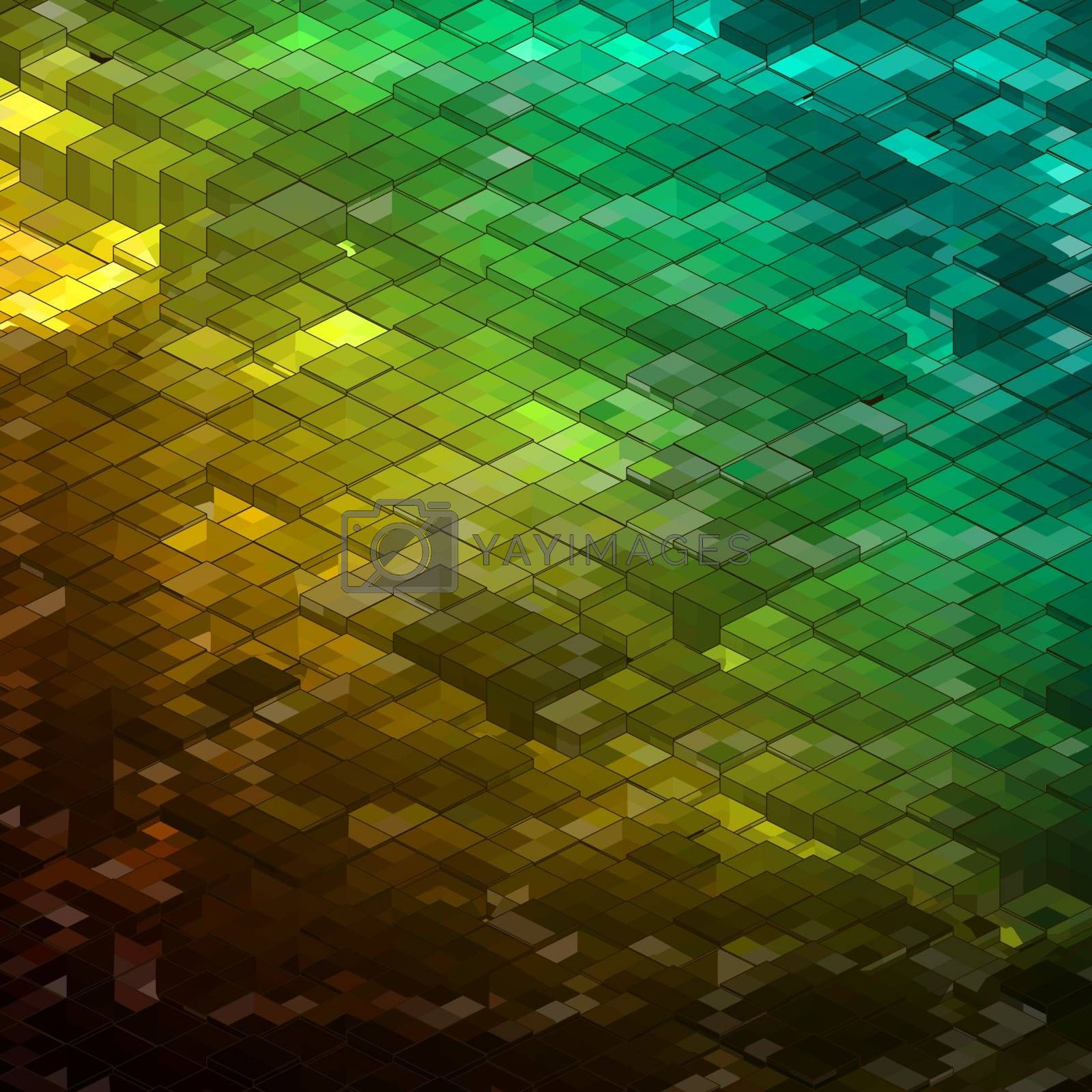 Abstract colorful Mosaic background. EPS 8 vector file included