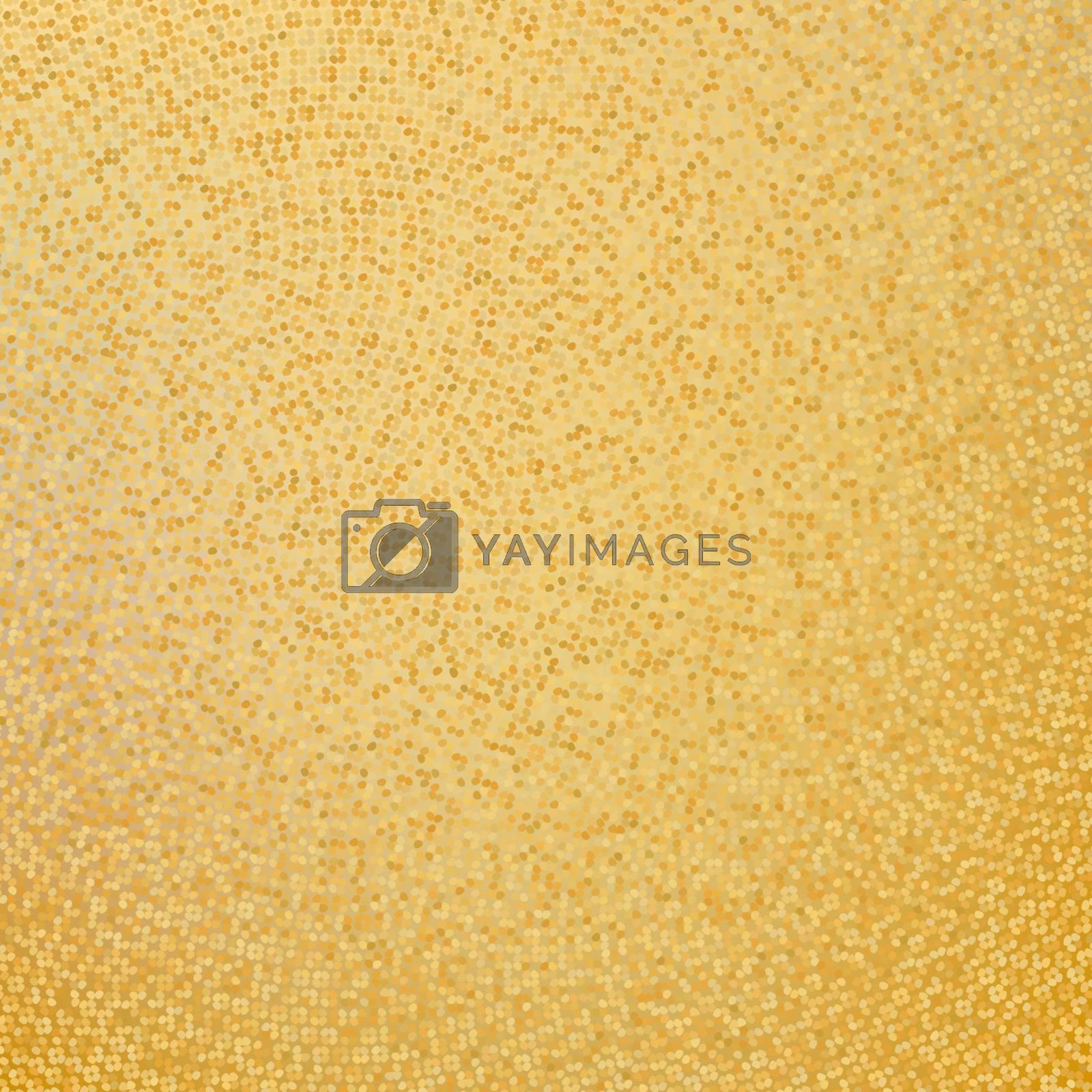 Gunge golden mosaic, gold background. EPS 8 vector file included