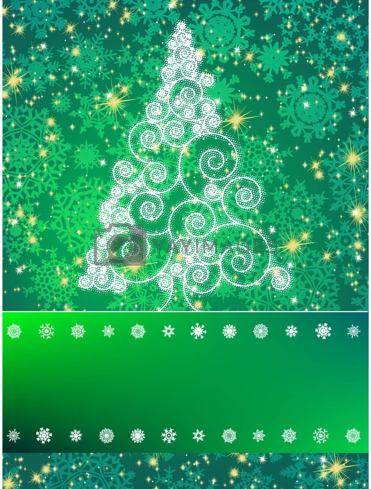 Elegant christmas background. And also includes EPS 8 vector