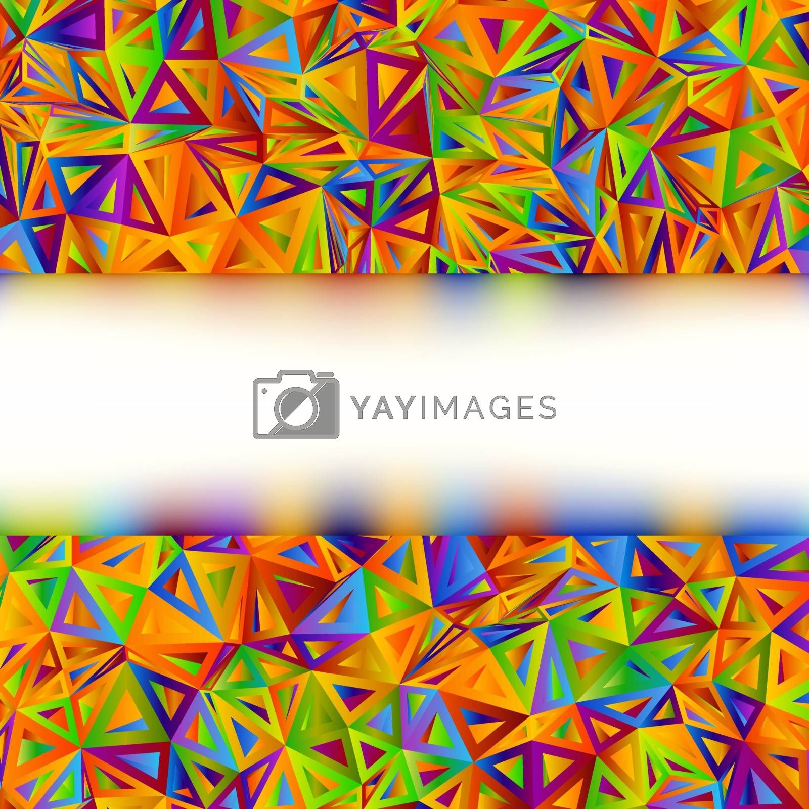 Colorful Abstract Banner template. EPS 8 vector file included
