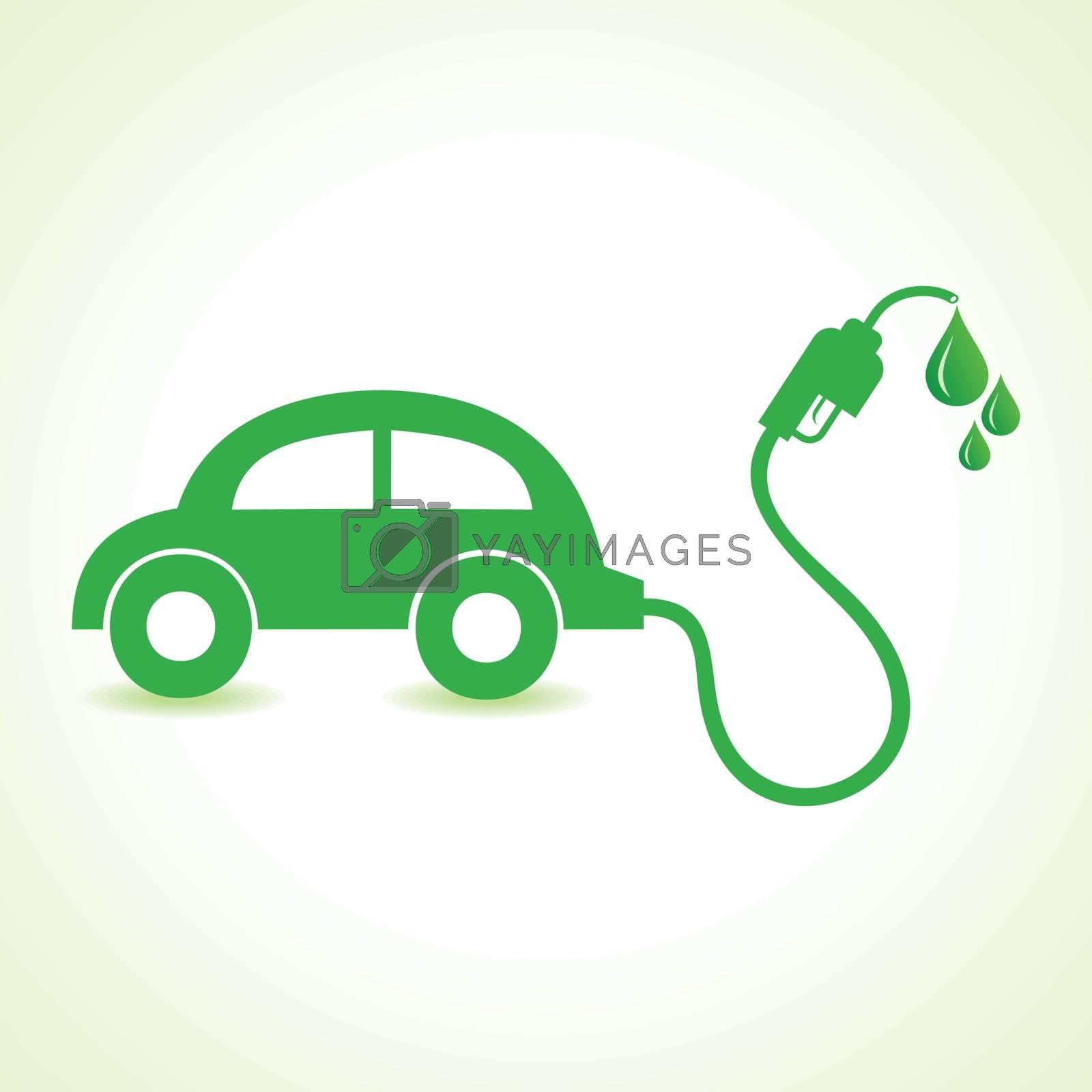 Bio fuel concept with car