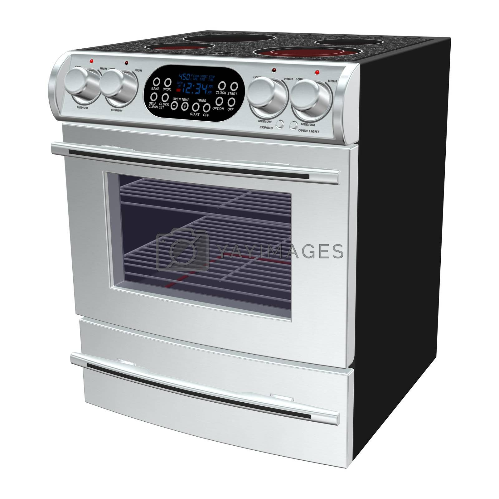 Royalty free image of Oven by Vac