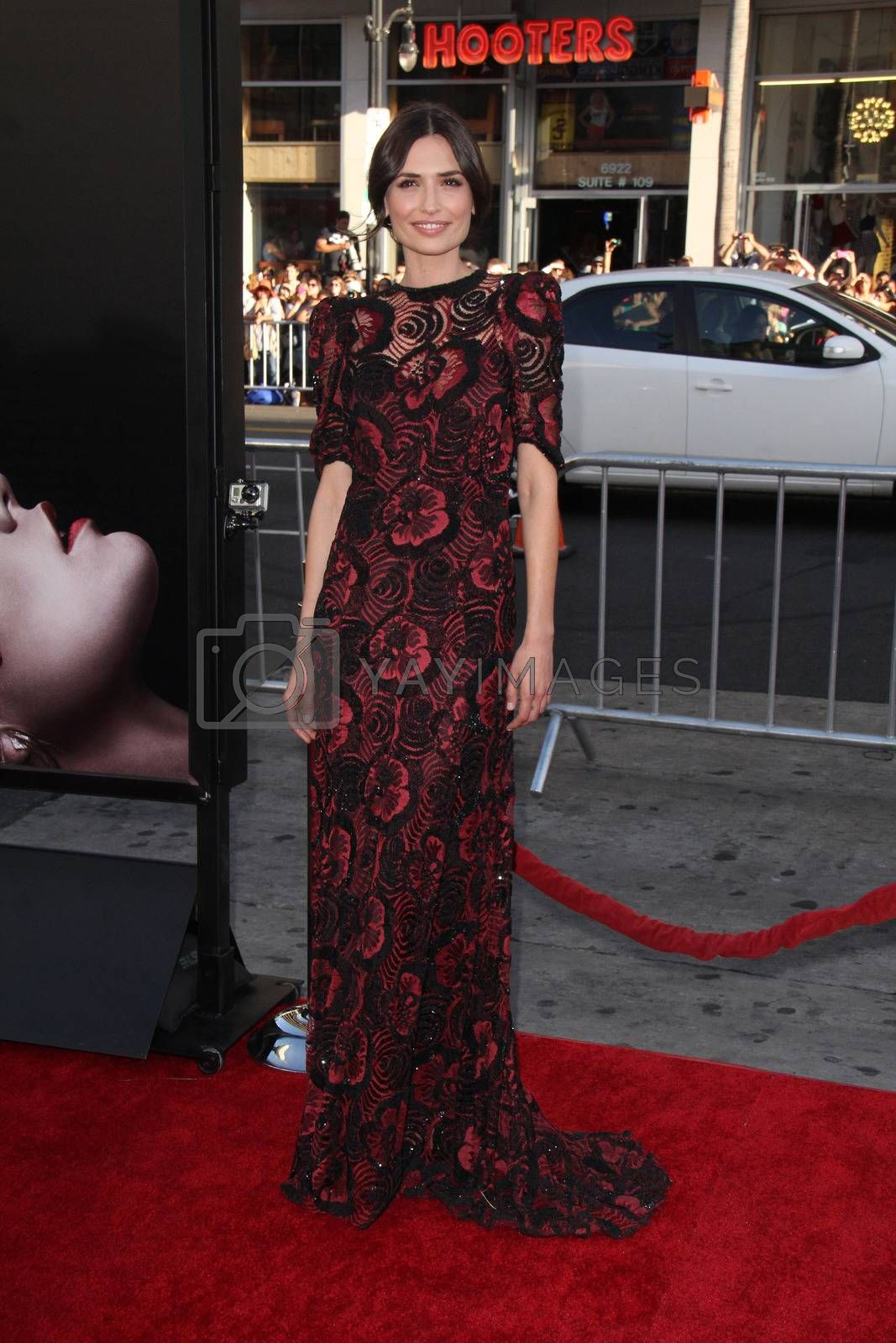 """Royalty free image of Karolina Wydra at the """"True Blood"""" Season 7 Premiere, TCL Chinese Theater, Hollywood, CA 06-17-14/ImageCollect by ImageCollect"""