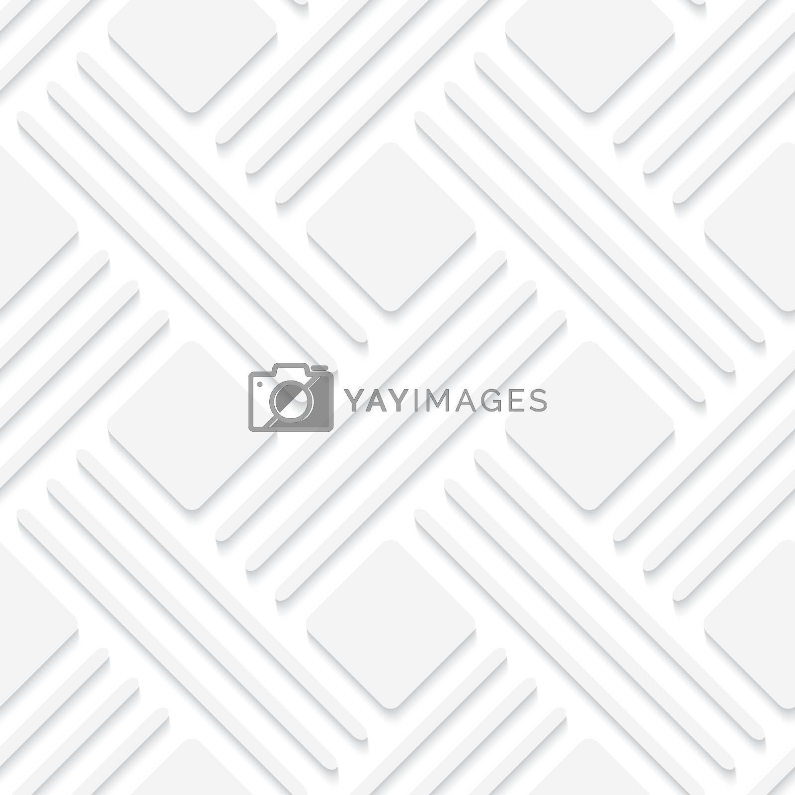 Royalty free image of White lines and squares by Zebra-Finch