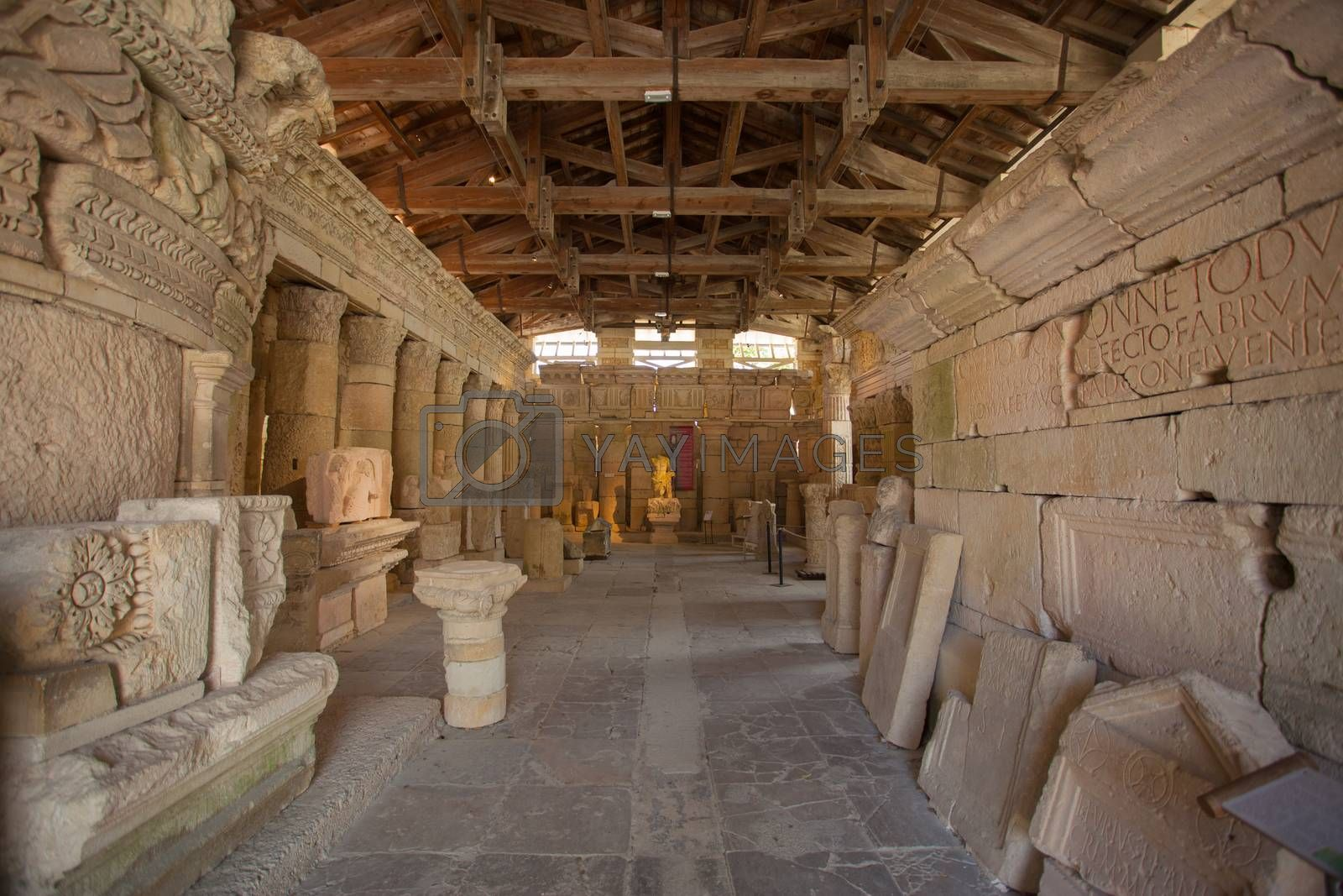 Roman archeological finds in Saintes France