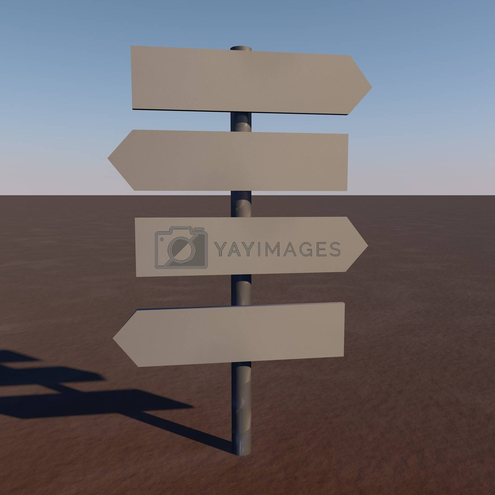 Directional signs by Koufax73