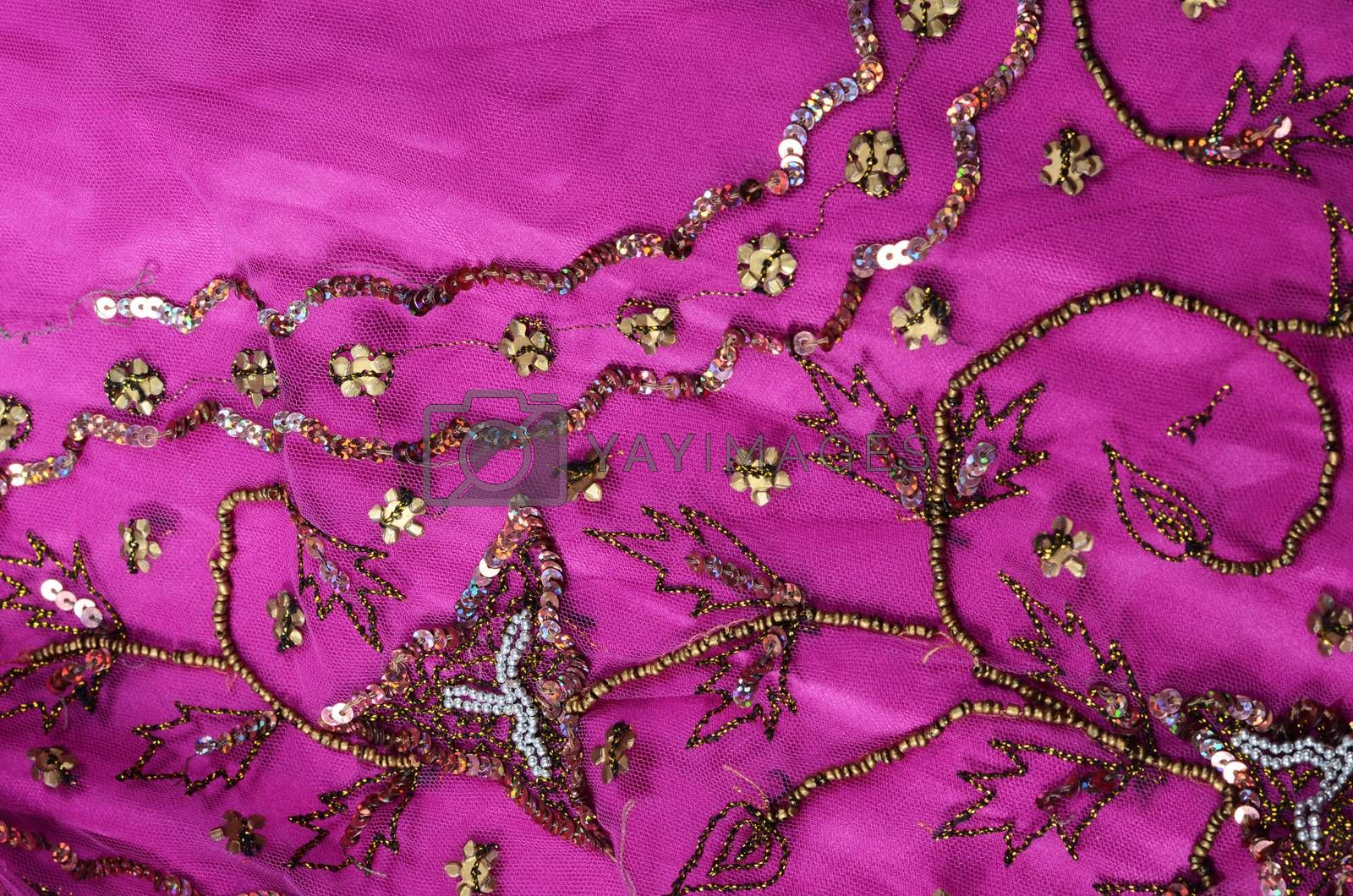 indian fabric by sarkao