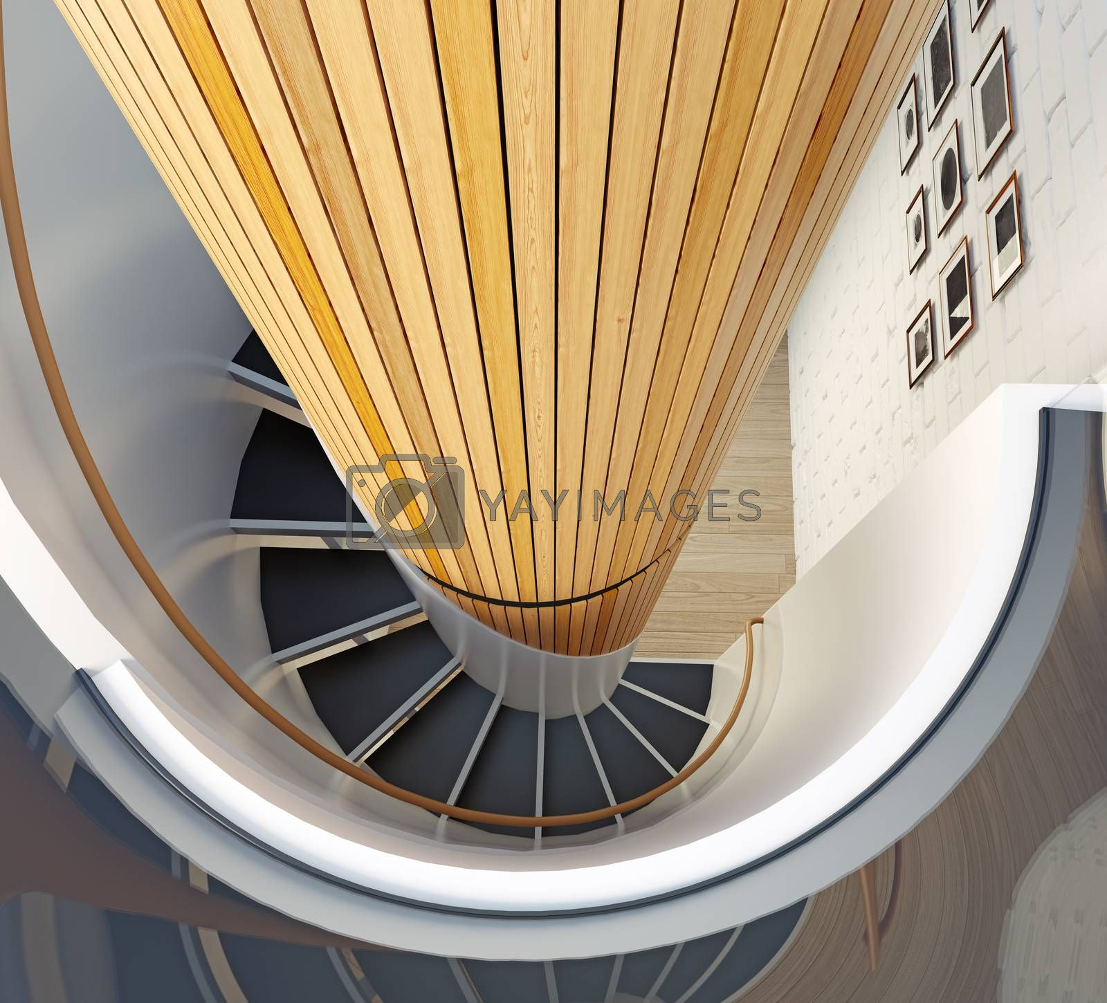 spiral staircase by vicnt
