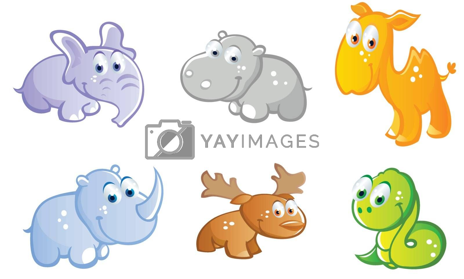 baby animals cartoon
