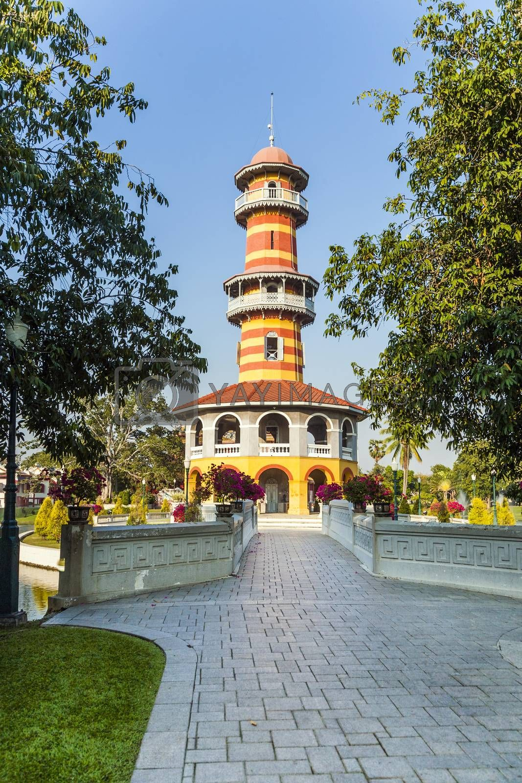 Sages Lookout Tower (Ho Withun Thasana) of the Thai royal Summe by meinzahn