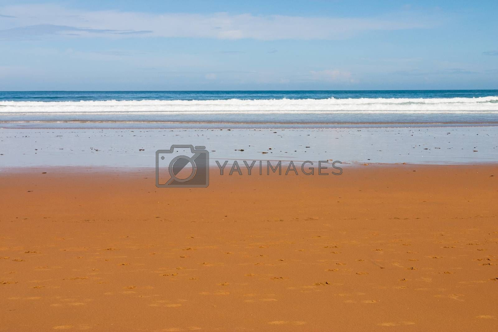 La Griega beach pic in Colunga, small town of the province of Asturias Spain