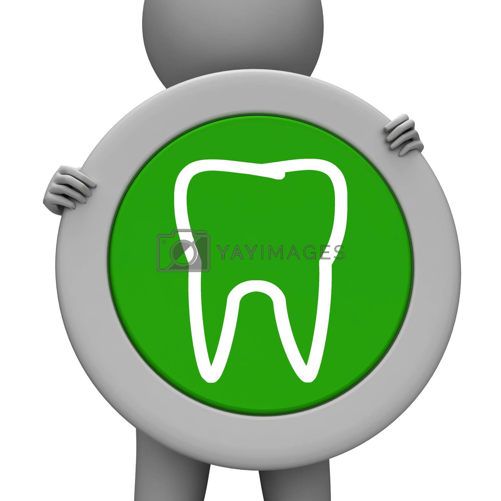 Tooth Icon Meaning Dentist Icons And Placard