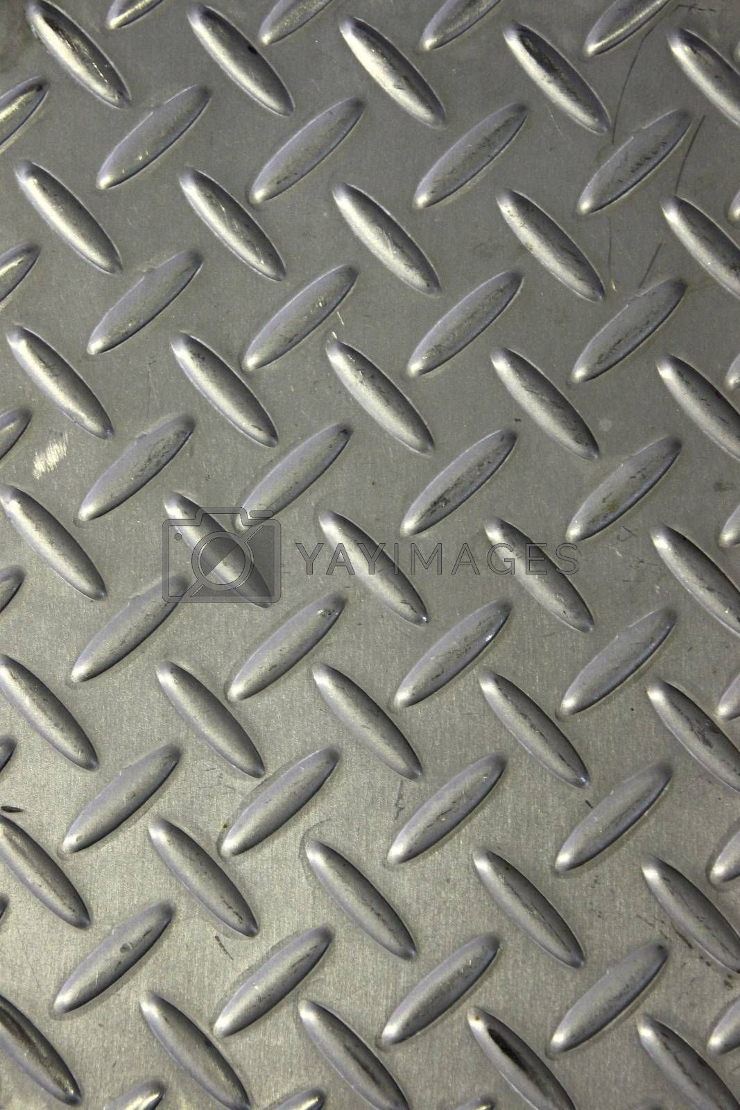 The Closeup Picture Pattern corridor made of Stainless steel.