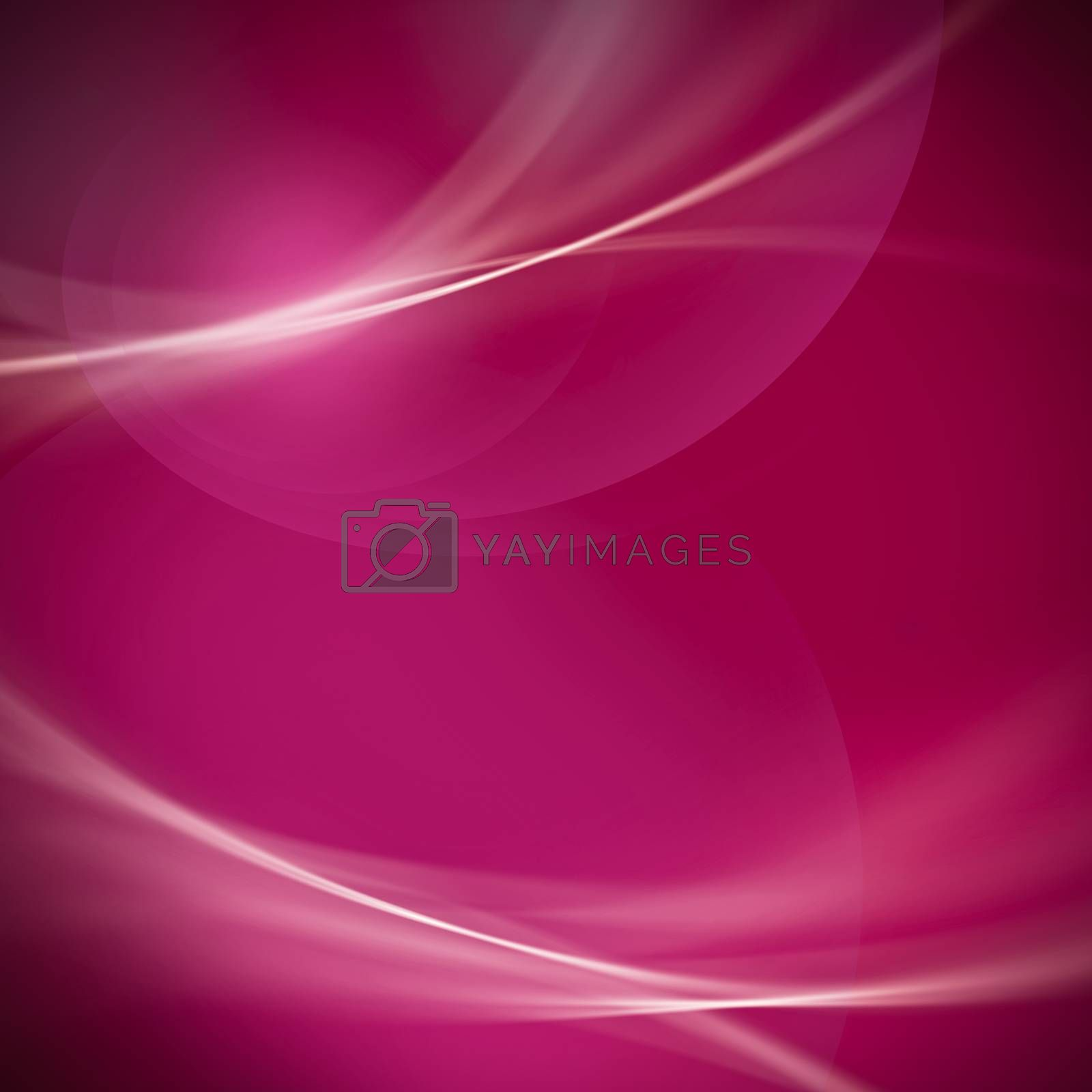 abstract soft line and bokeh on magenta and pink tone background.