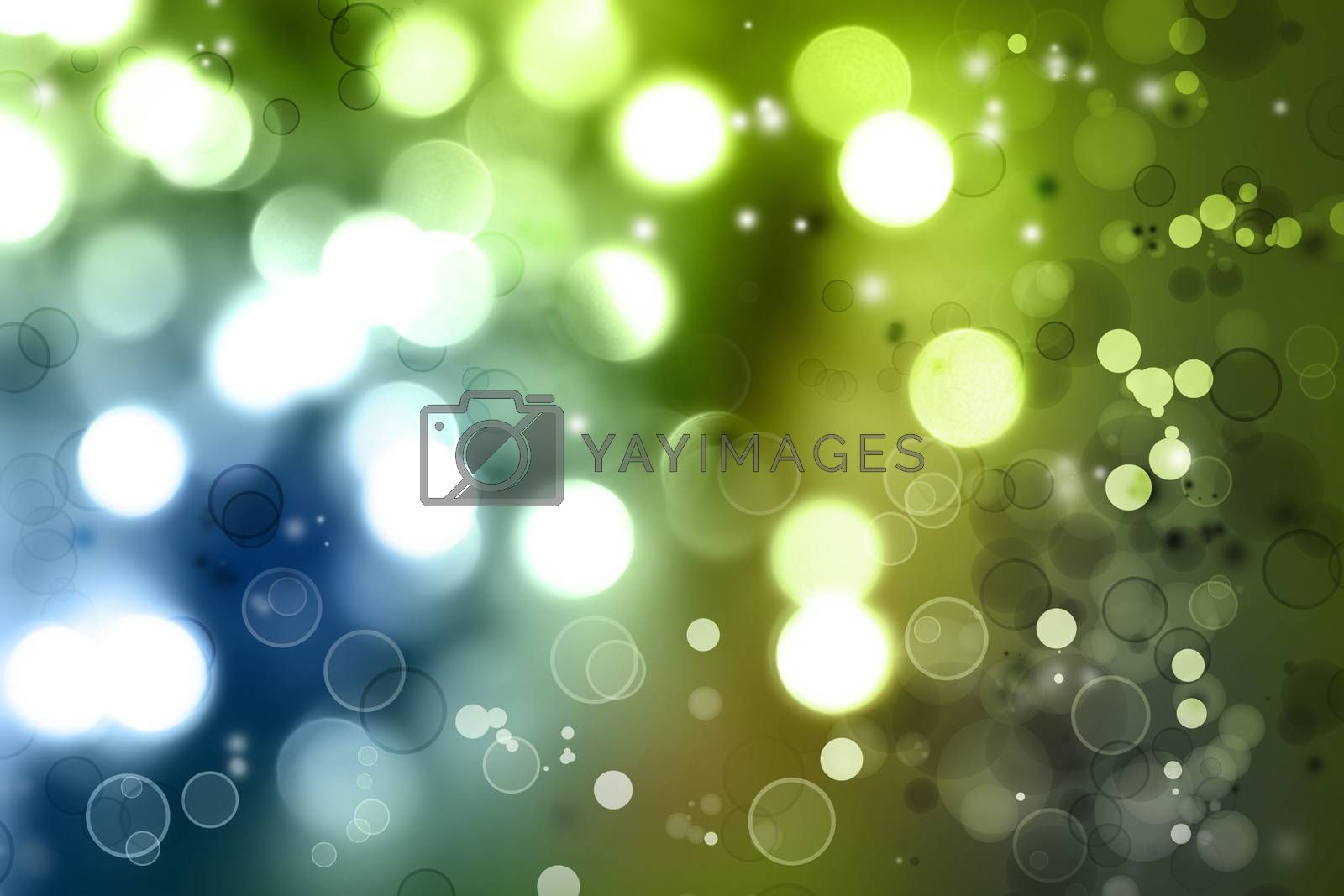 Abstract blue and green tone background