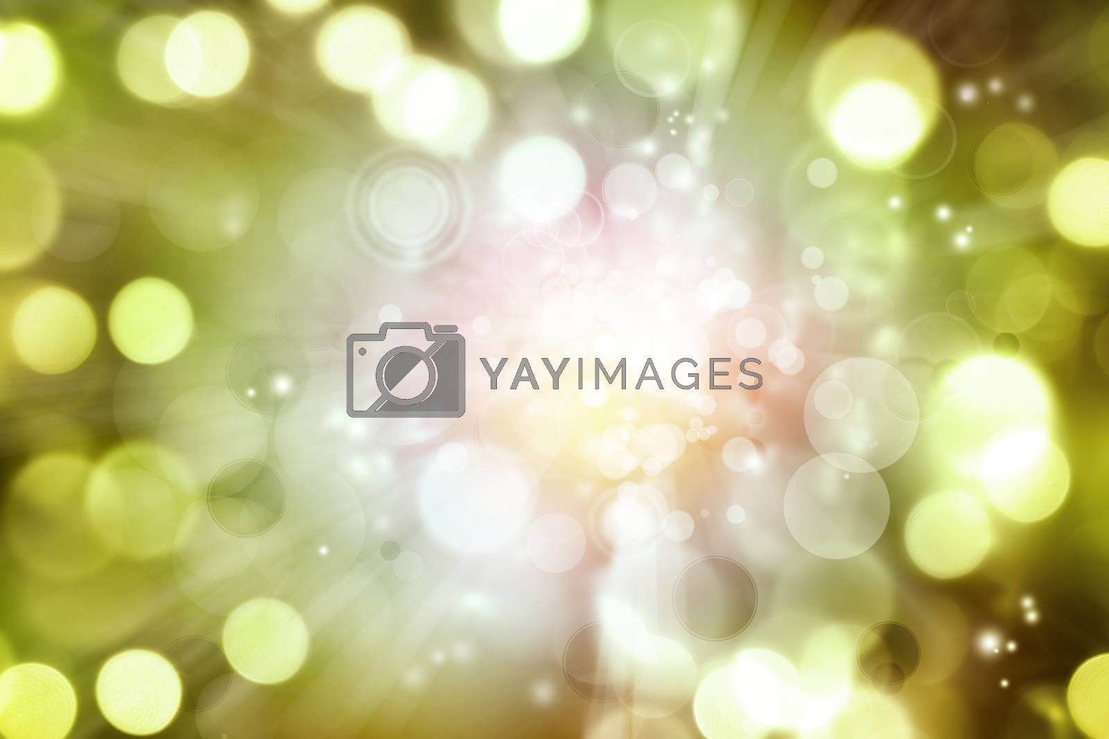 Circles abstract color background