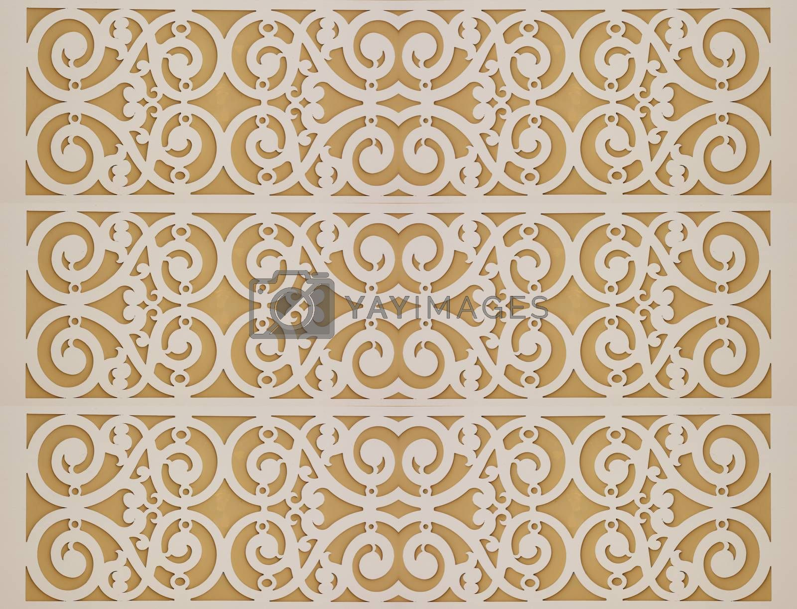 Modern pattern for the interior.
