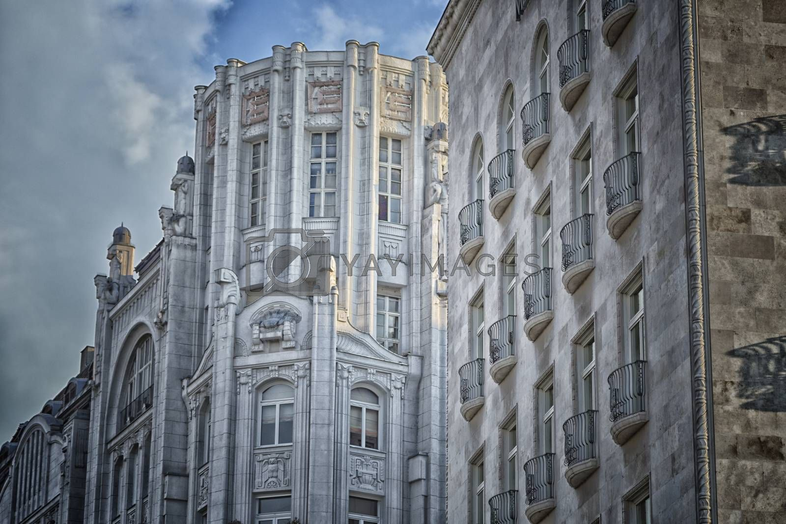 Palaces in Budapest by paocasa