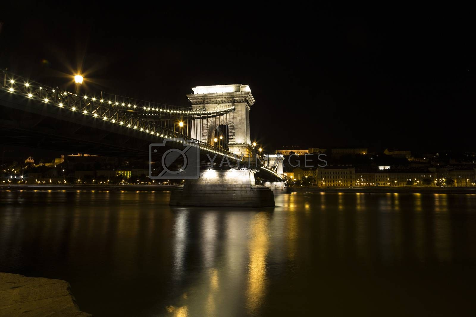 Royalty free image of Danube View in Budapest by paocasa