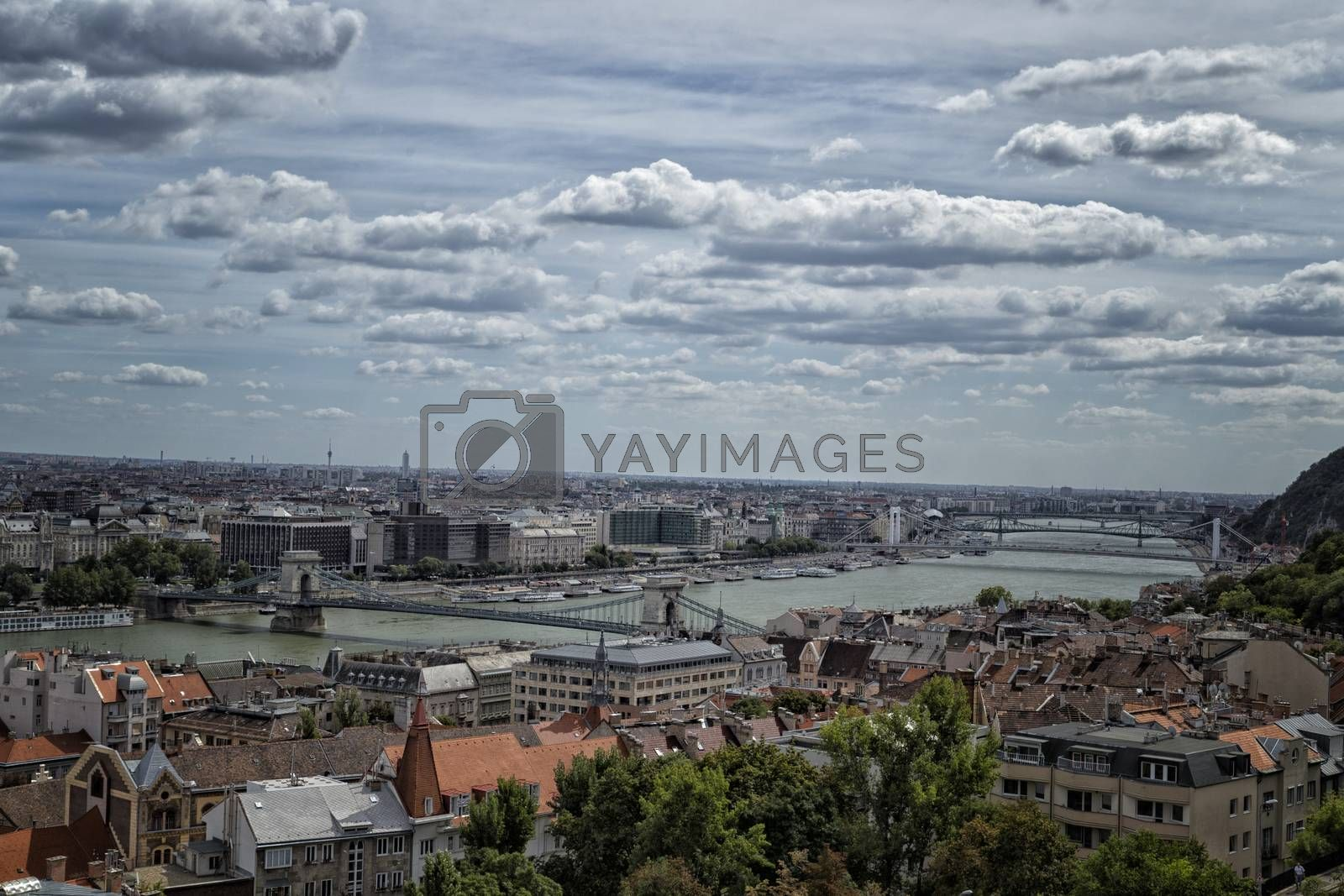 Danube View in Budapest by paocasa