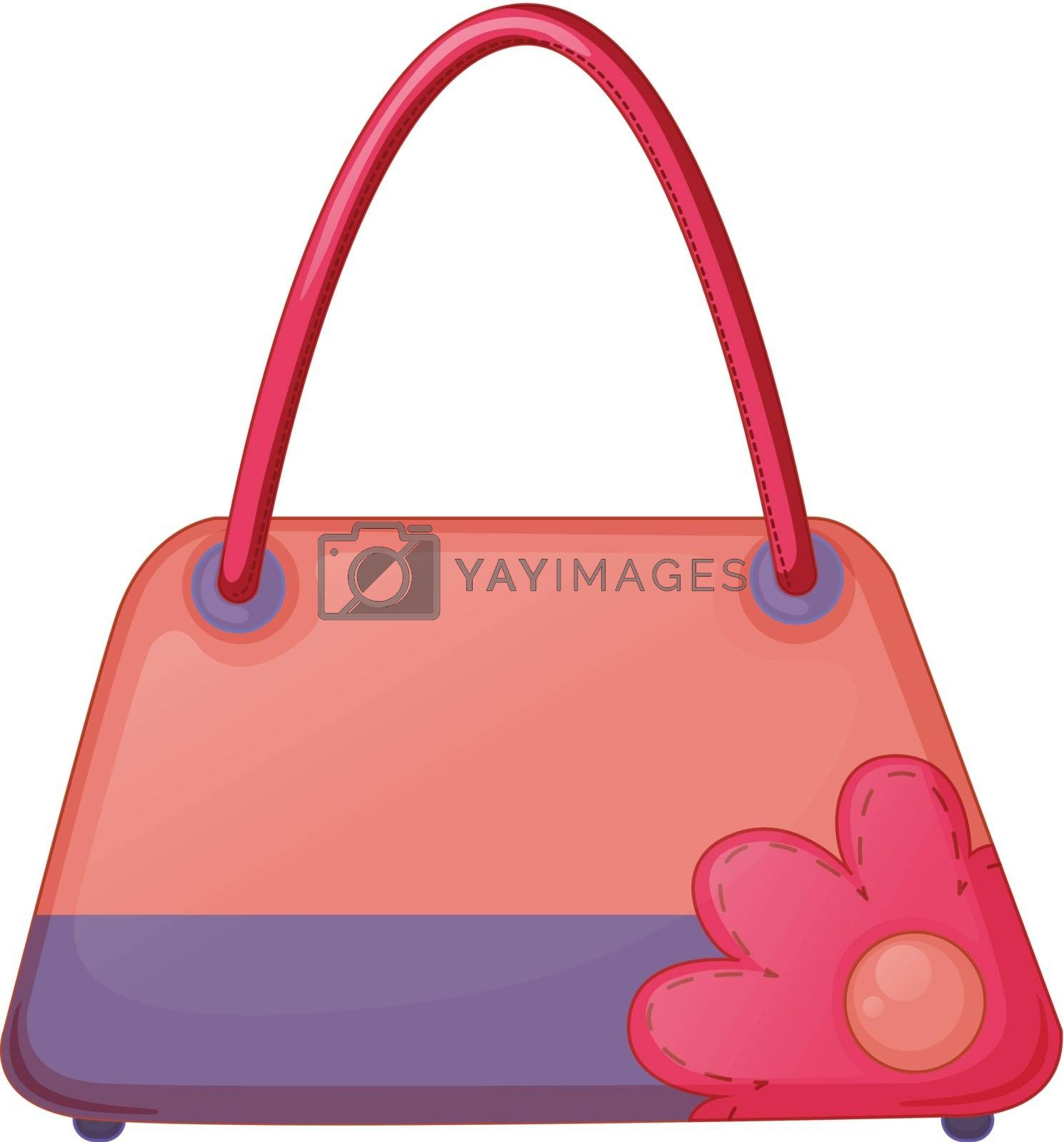 A pink fashion bag by iimages