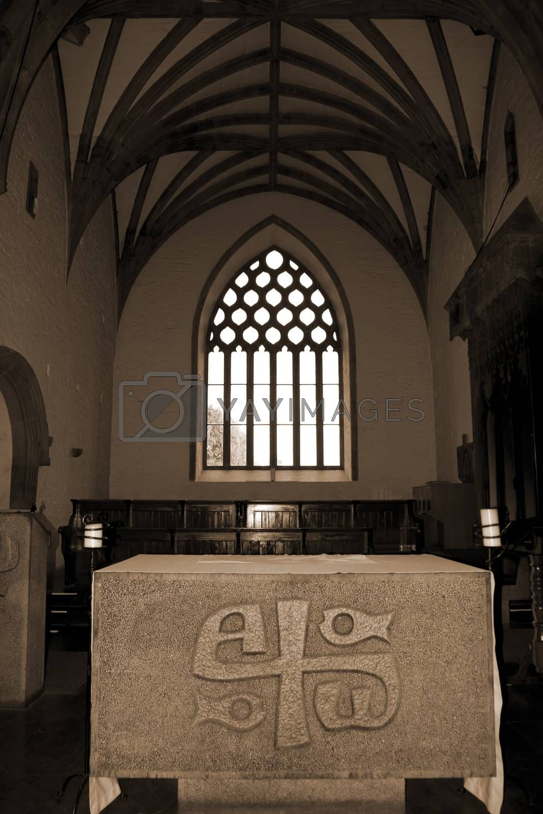 alter in the chapel of Holycross abbey by morrbyte