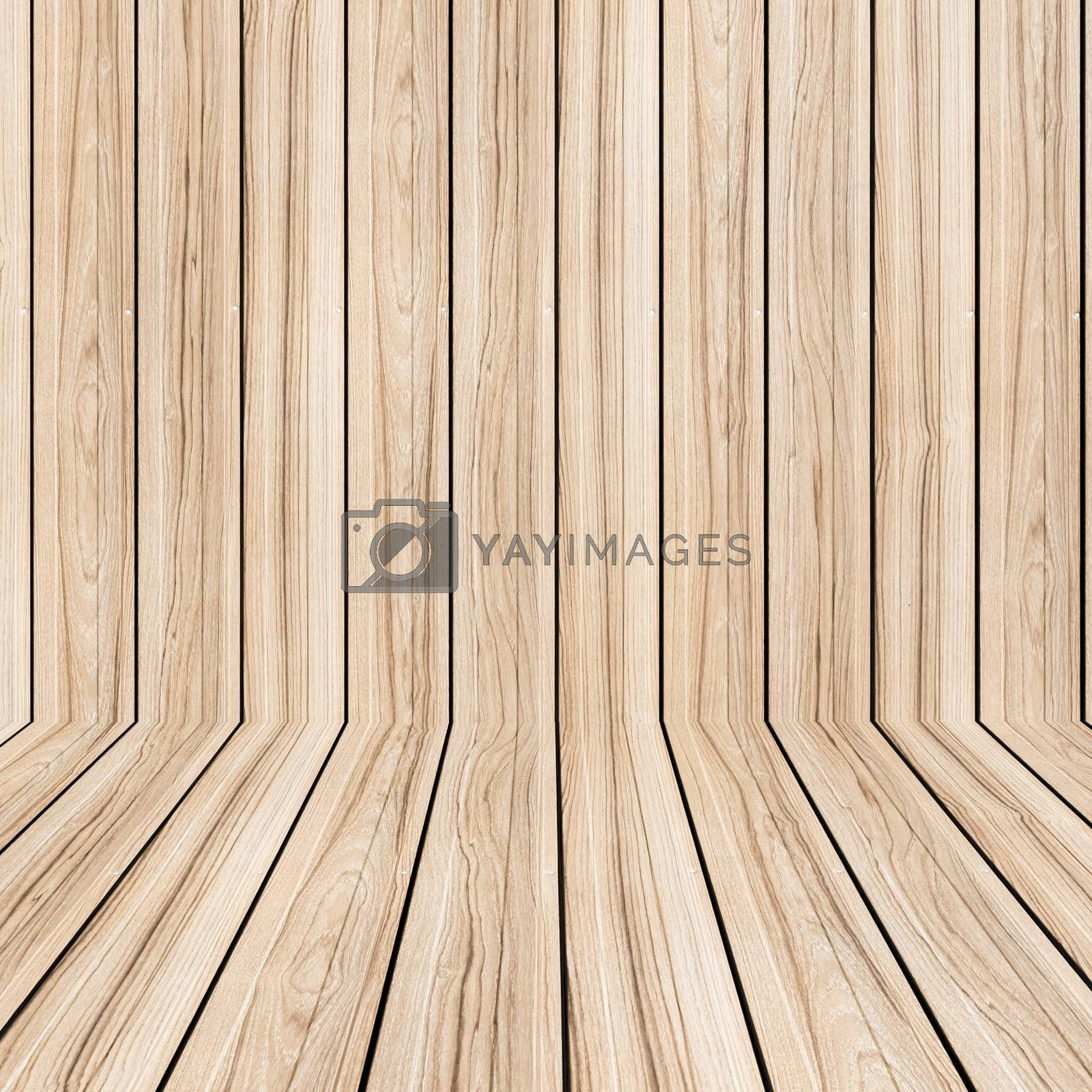 Brown wood planks floor texture and background wallpaper