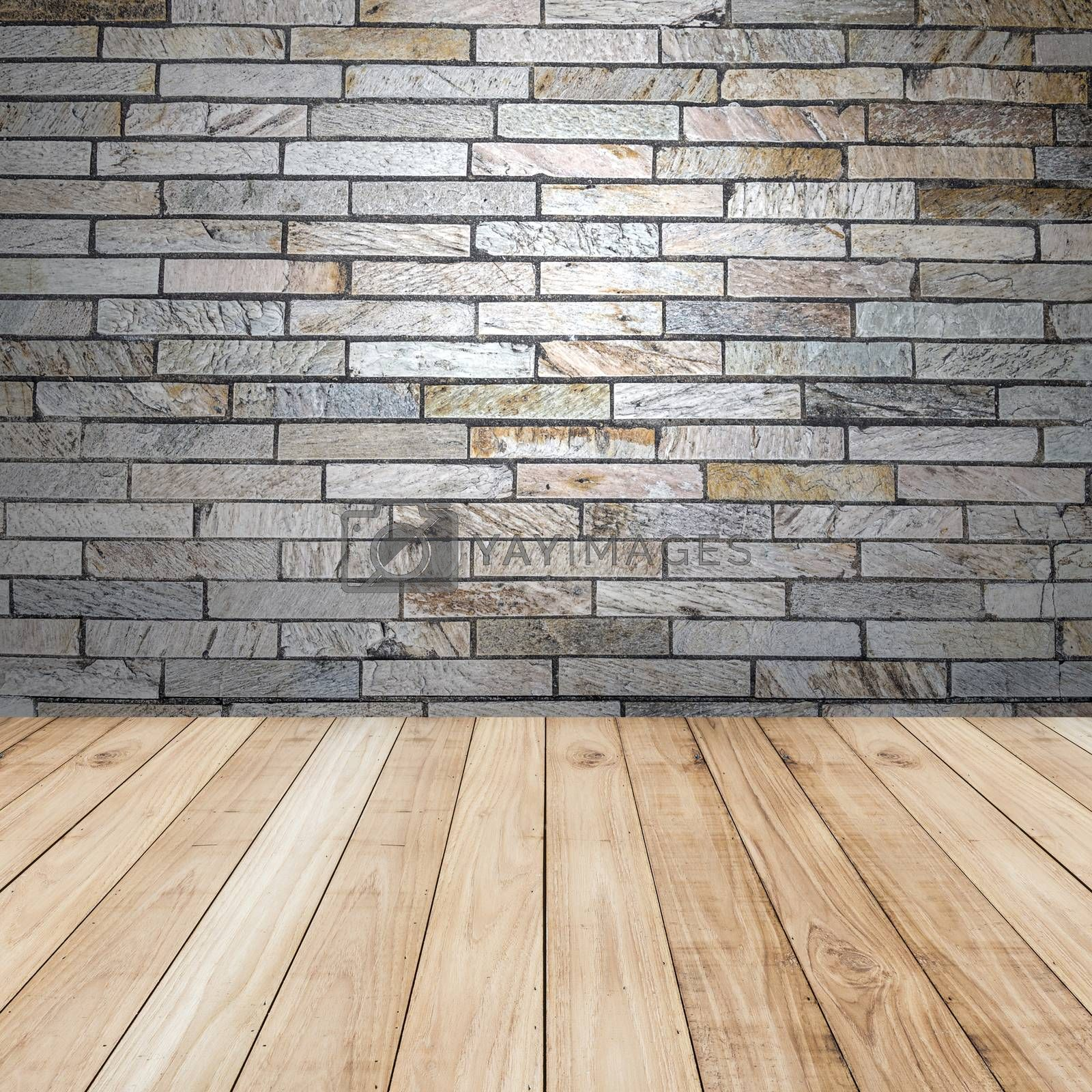 Big brown floors wood planks texture background wallpaper. Stand for product showcase