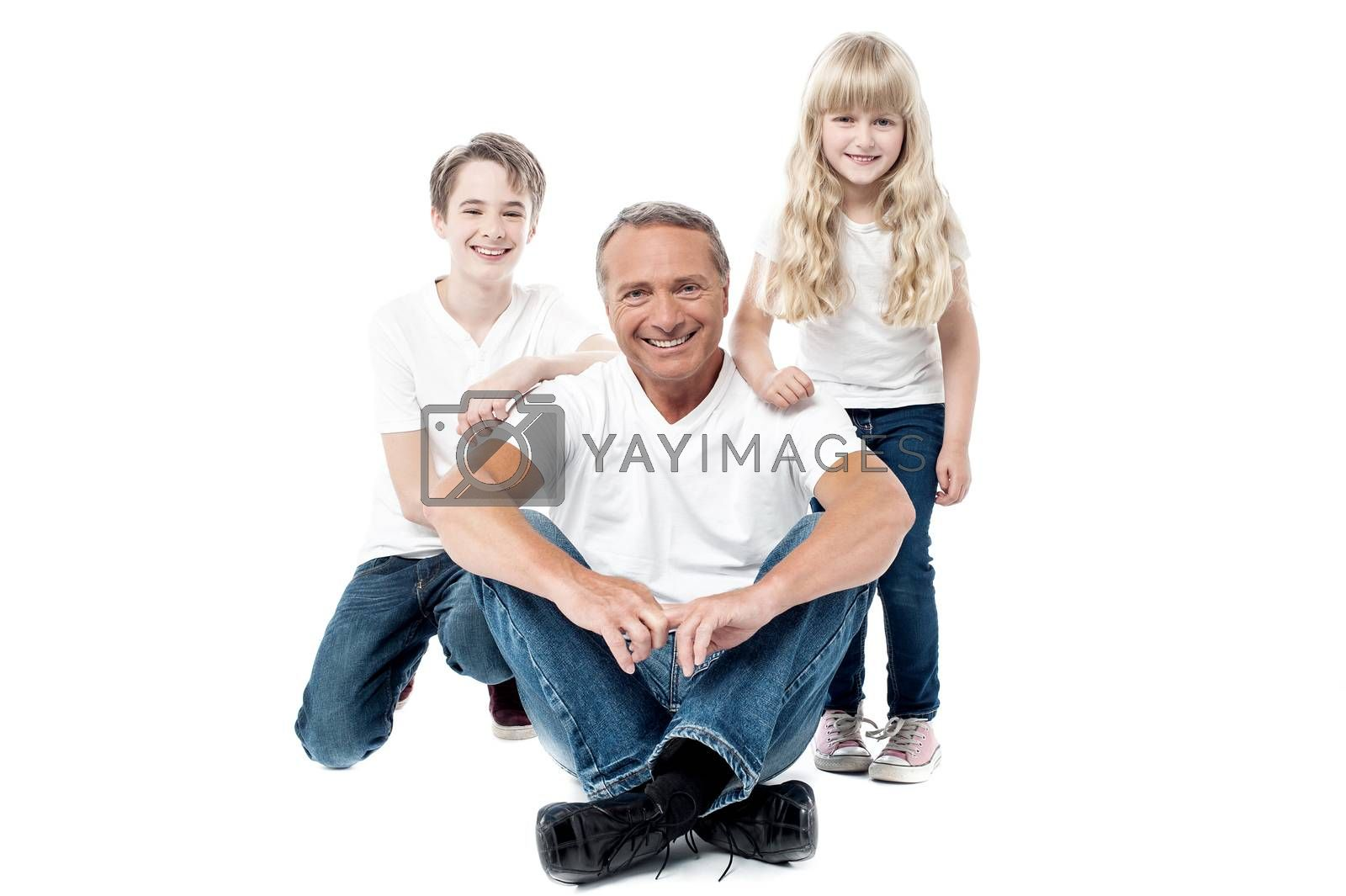 We are the happy family by stockyimages