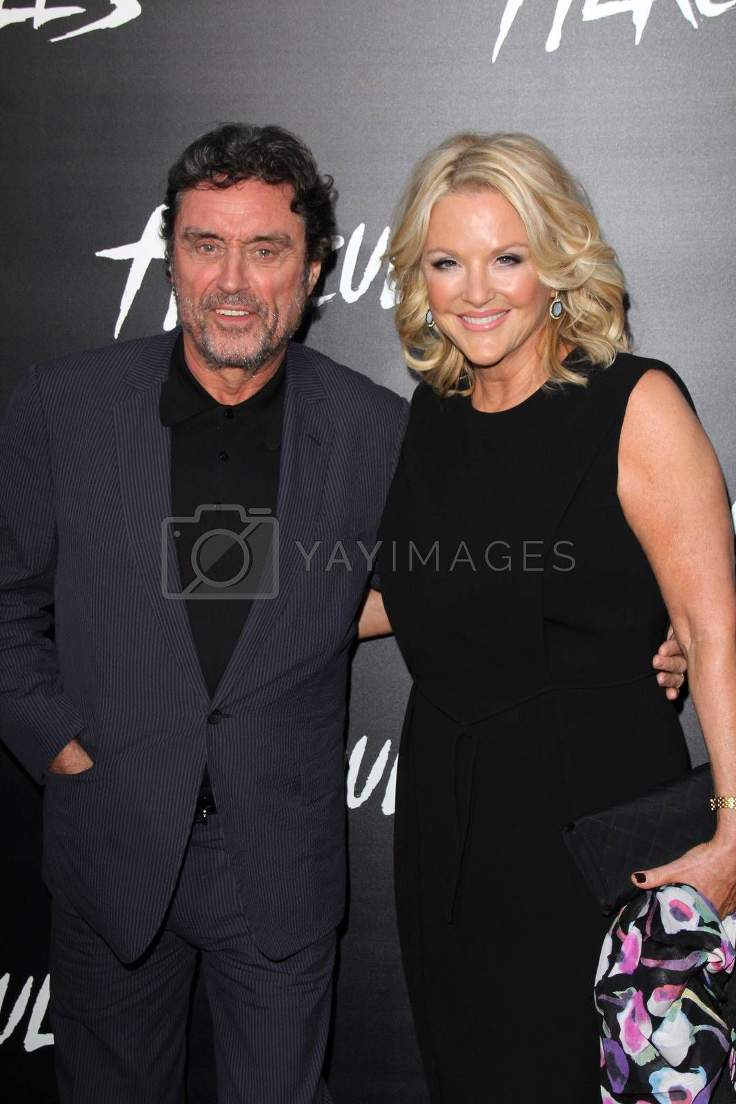 """Royalty free image of Ian McShane at the """"Hercules"""" Los Angeles Premiere, TCL Chinese Theater, Hollywood, CA  07-23-14/ImageCollect by ImageCollect"""