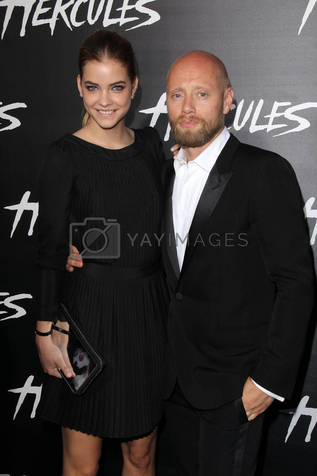 """Royalty free image of Barbara Palvin, Aksel Hennie at the """"Hercules"""" Los Angeles Premiere, TCL Chinese Theater, Hollywood, CA  07-23-14/ImageCollect by ImageCollect"""