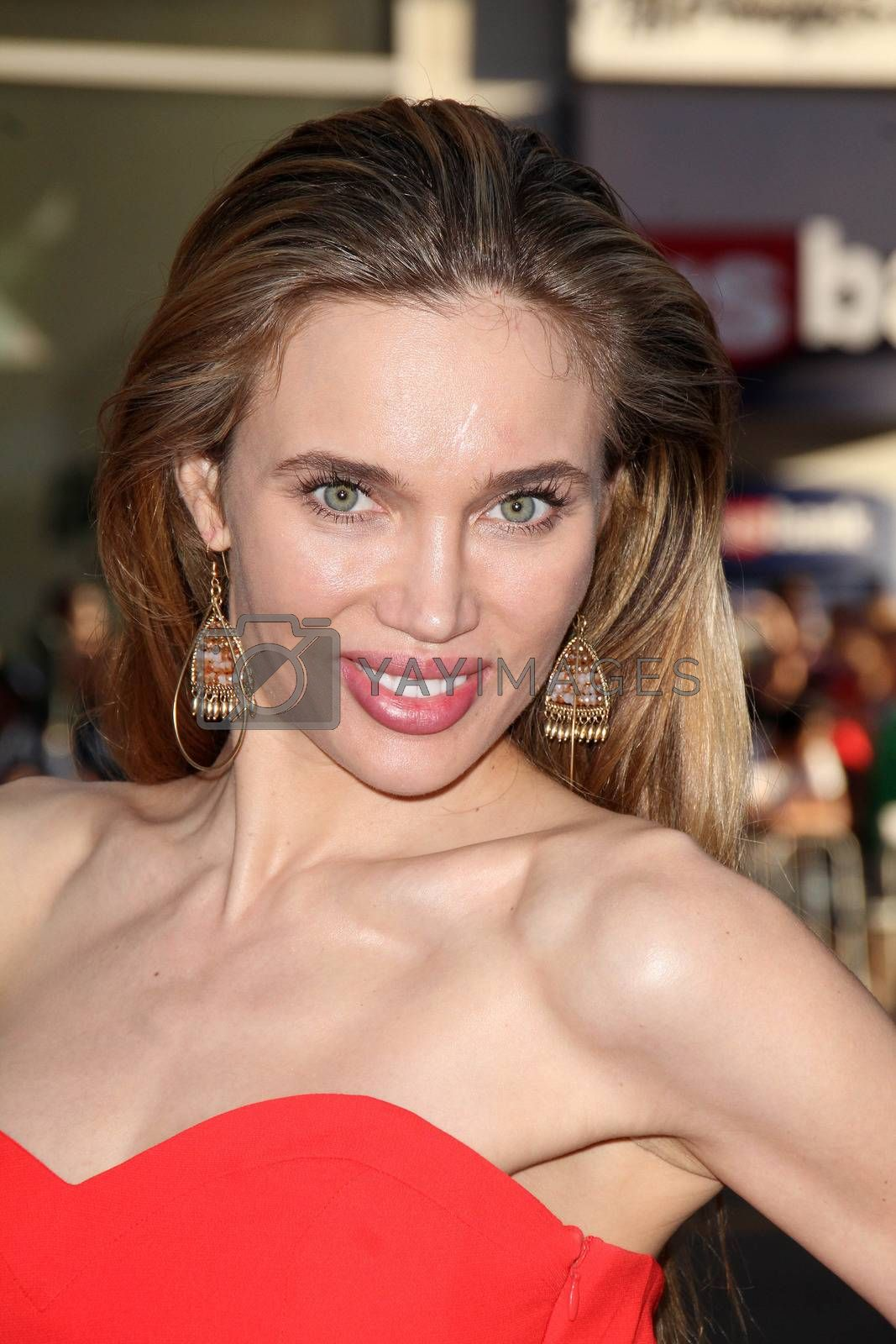 """Royalty free image of Natasha Galkina at the """"Hercules"""" Los Angeles Premiere, TCL Chinese Theater, Hollywood, CA  07-23-14/ImageCollect by ImageCollect"""