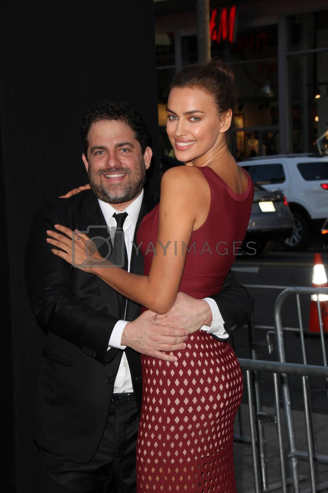 """Royalty free image of Brett Ratner, Irina Shayk at the """"Hercules"""" Los Angeles Premiere, TCL Chinese Theater, Hollywood, CA  07-23-14/ImageCollect by ImageCollect"""