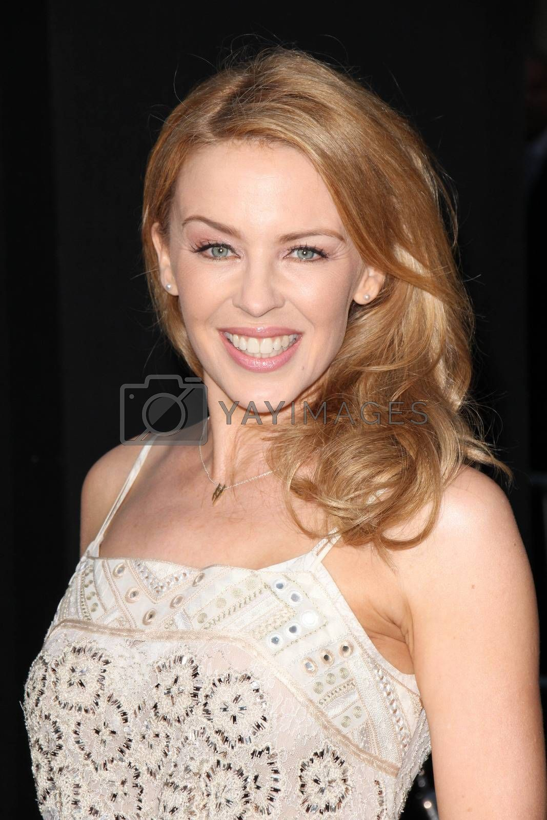 """Royalty free image of Kylie Minogue at the """"Hercules"""" Los Angeles Premiere, TCL Chinese Theater, Hollywood, CA  07-23-14/ImageCollect by ImageCollect"""