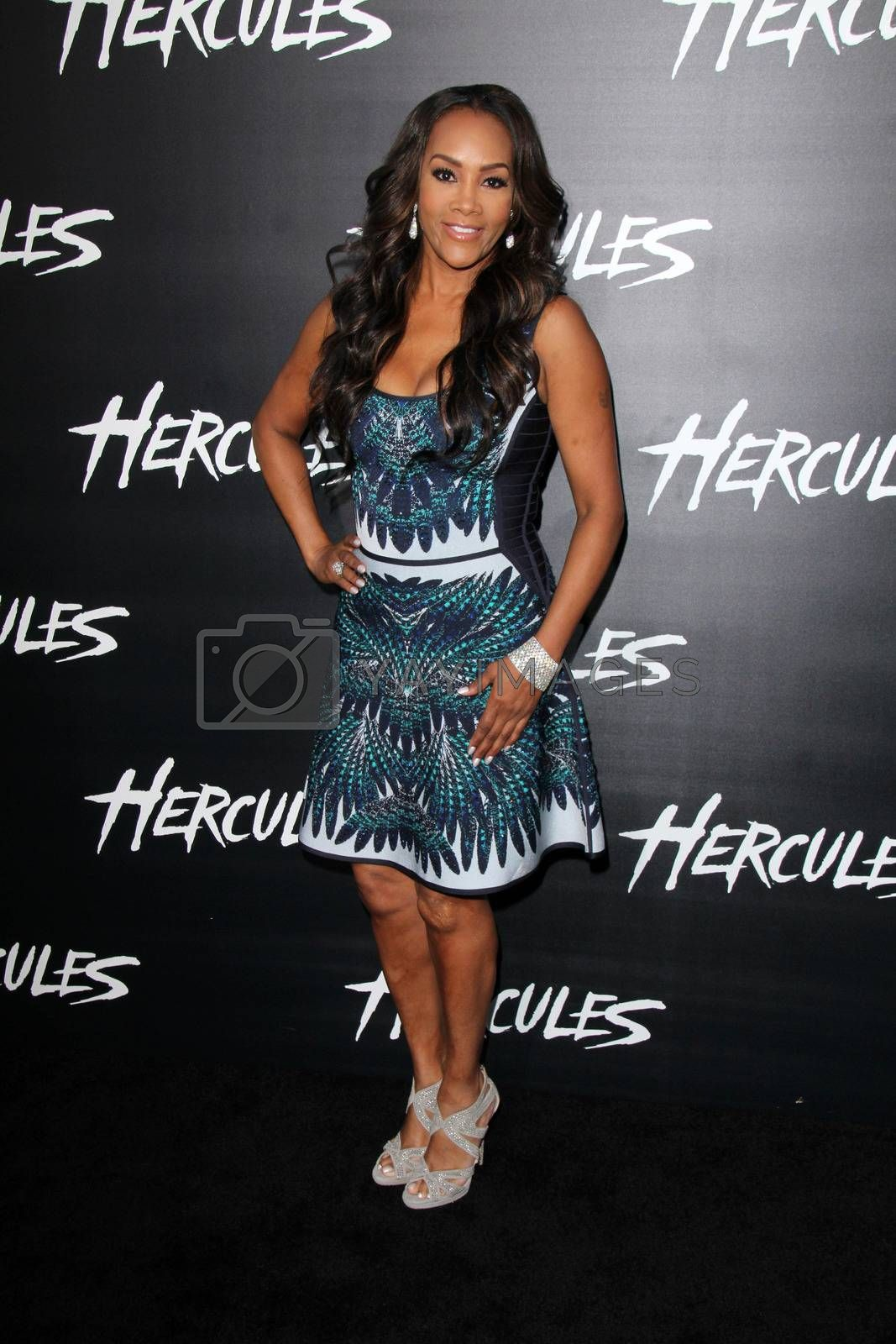 """Royalty free image of Vivica A. Fox at the """"Hercules"""" Los Angeles Premiere, TCL Chinese Theater, Hollywood, CA  07-23-14/ImageCollect by ImageCollect"""