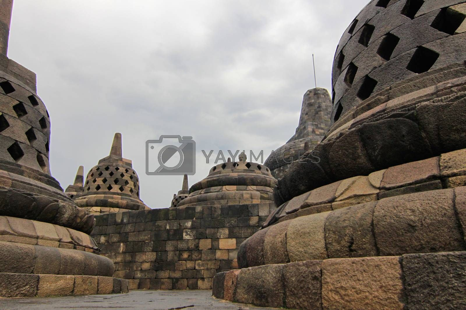 Royalty free image of Borobudur temple by sorayuth26