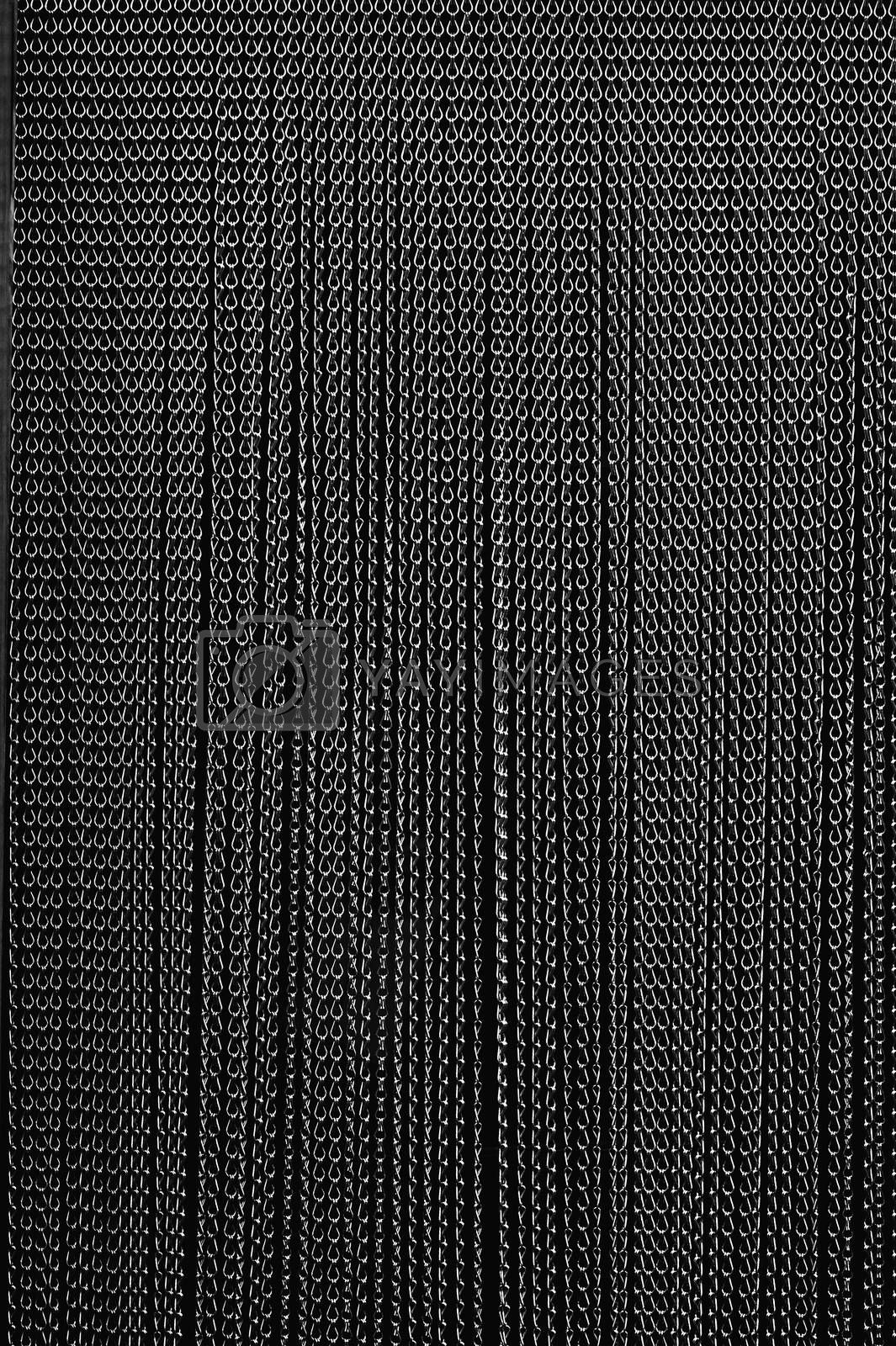 Royalty free image of Chain curtain by ginton